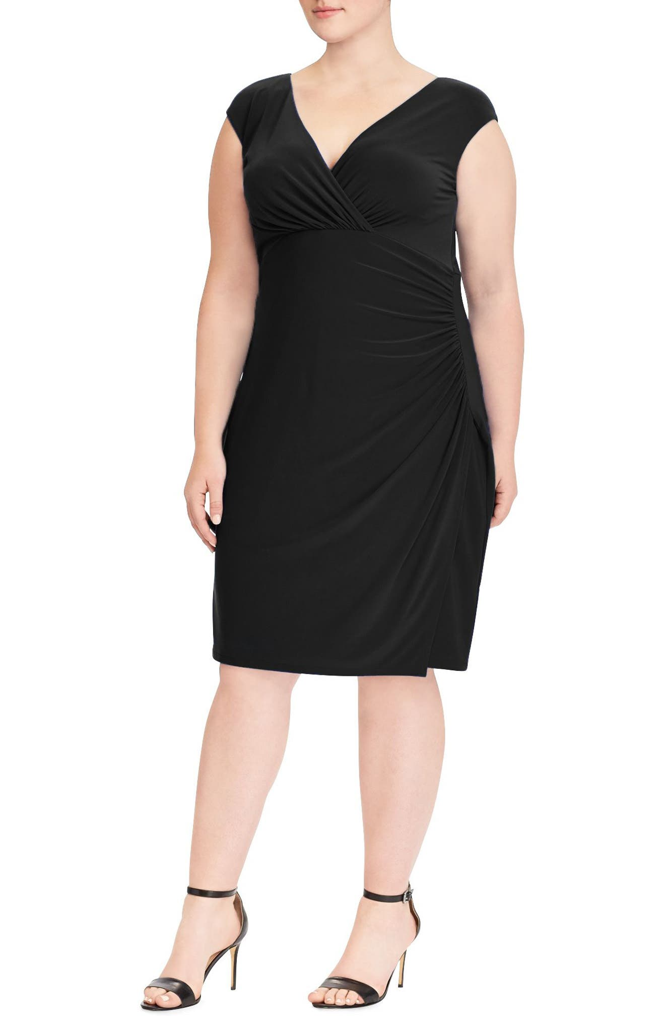 Adara Sheath Dress,                         Main,                         color, Black