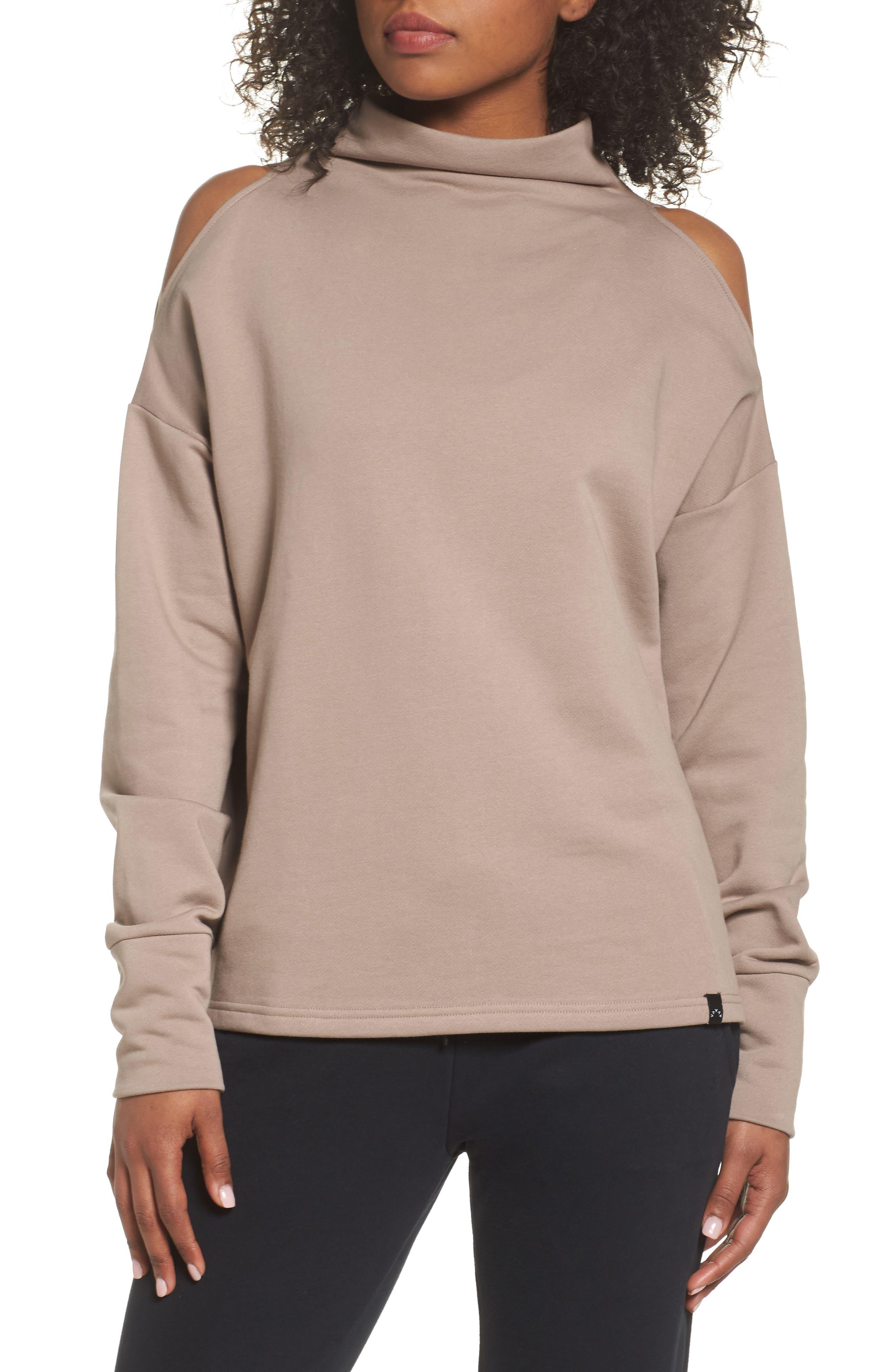 Varley Keystone Cold Shoulder Sweatshirt