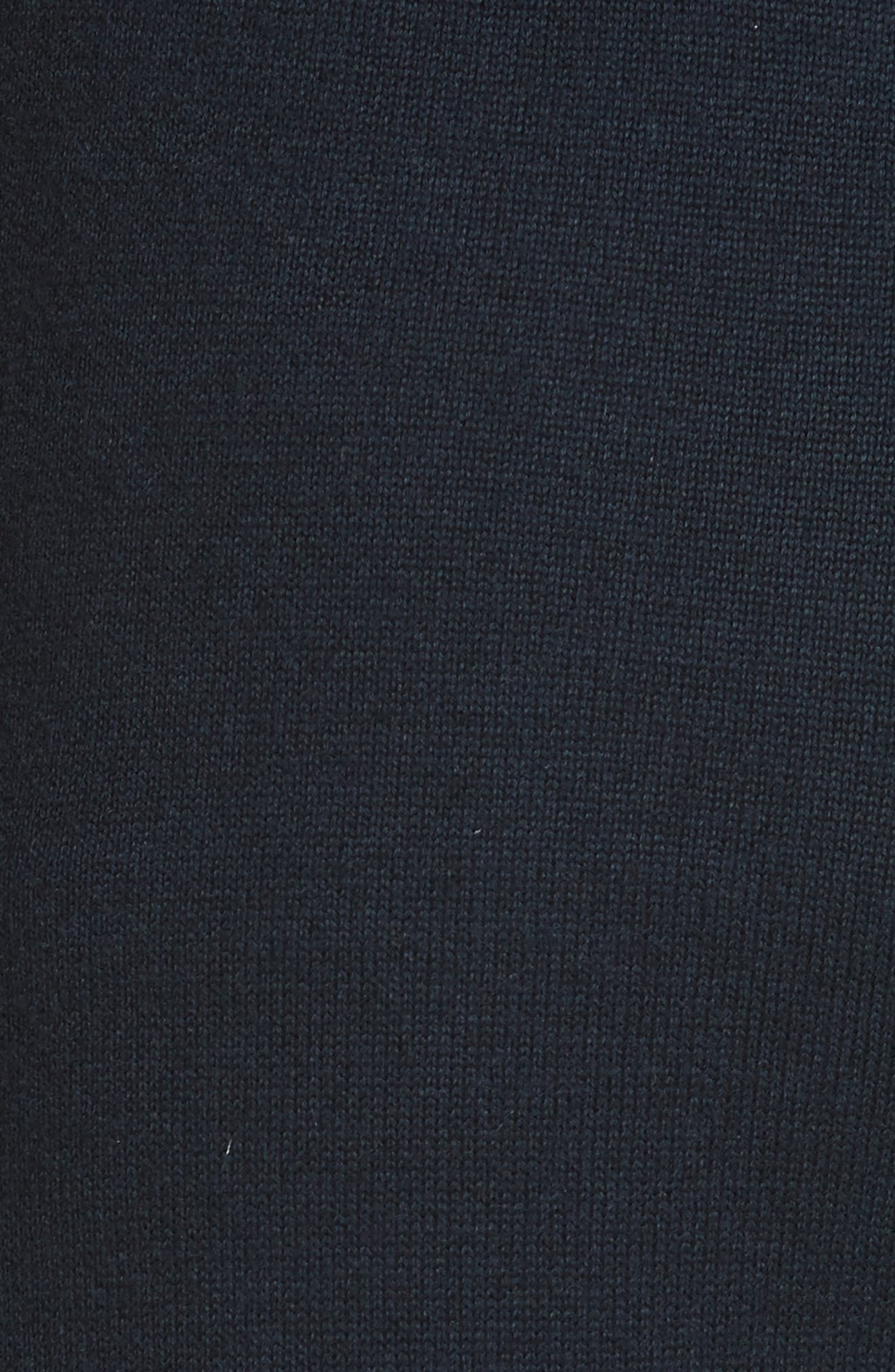 Performance Cashmere Blend Lounge Pants,                             Alternate thumbnail 6, color,                             Tory Navy