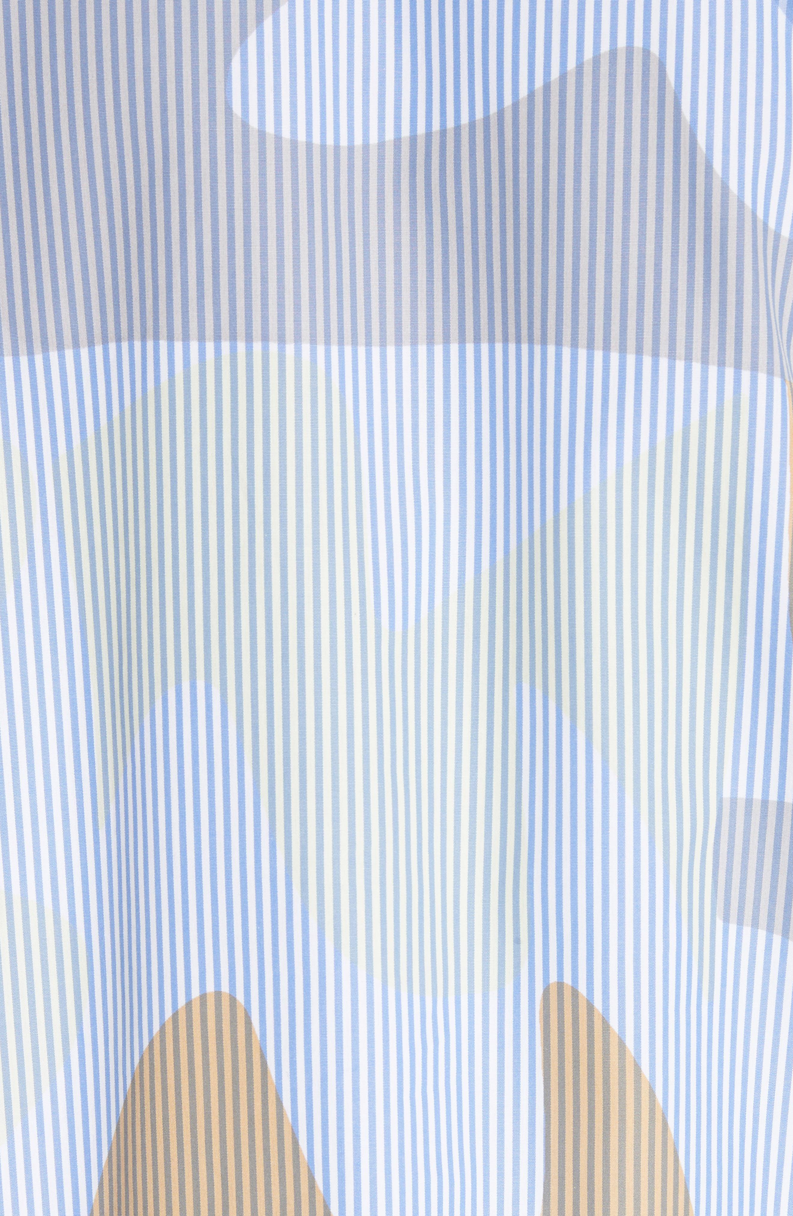 Carla Urban Ethos Stripe Blouse,                             Alternate thumbnail 5, color,                             Periwinkle Multi