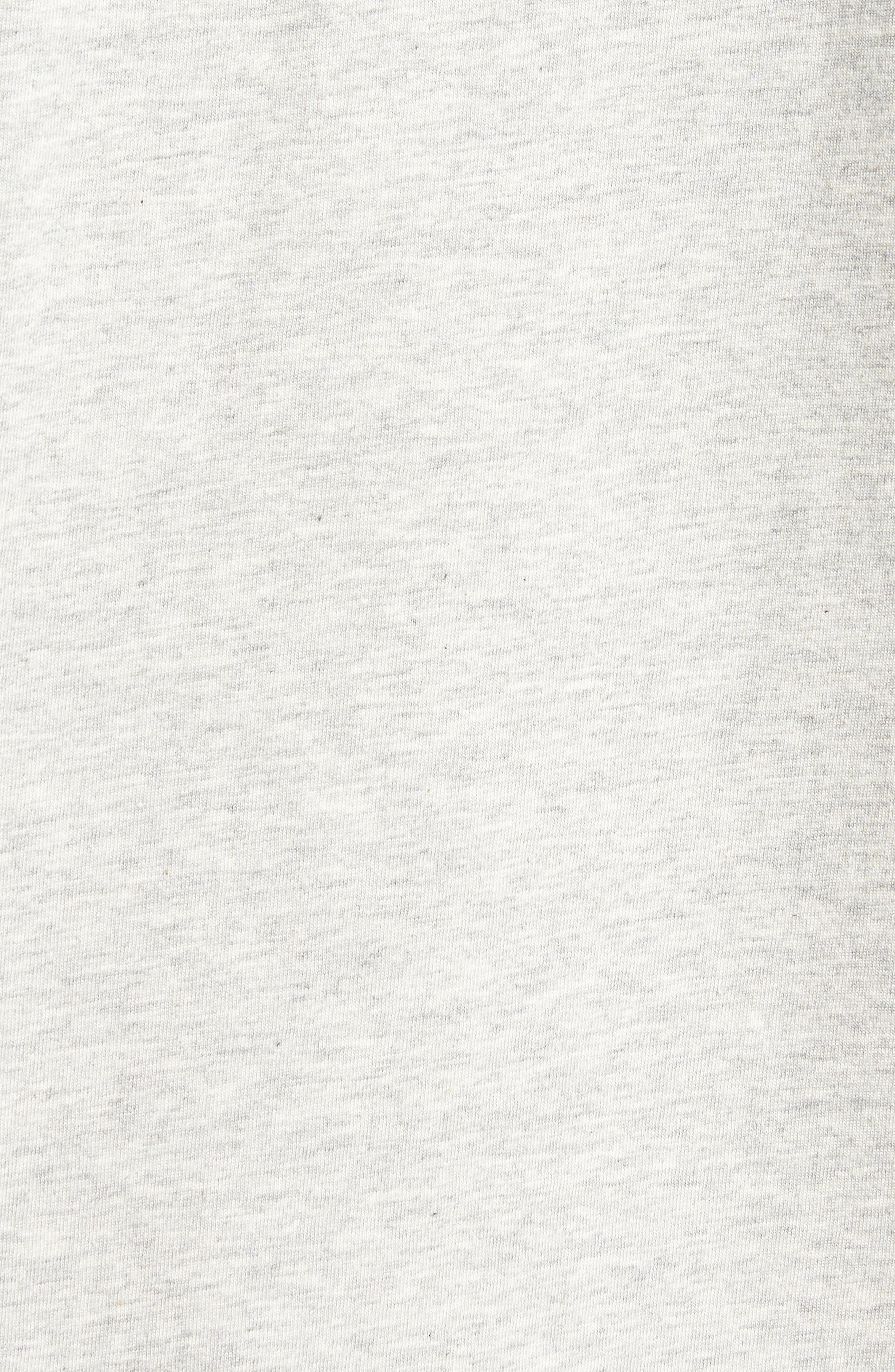 Drush Slim Fit Graphic T-Shirt,                             Alternate thumbnail 5, color,                             Grey