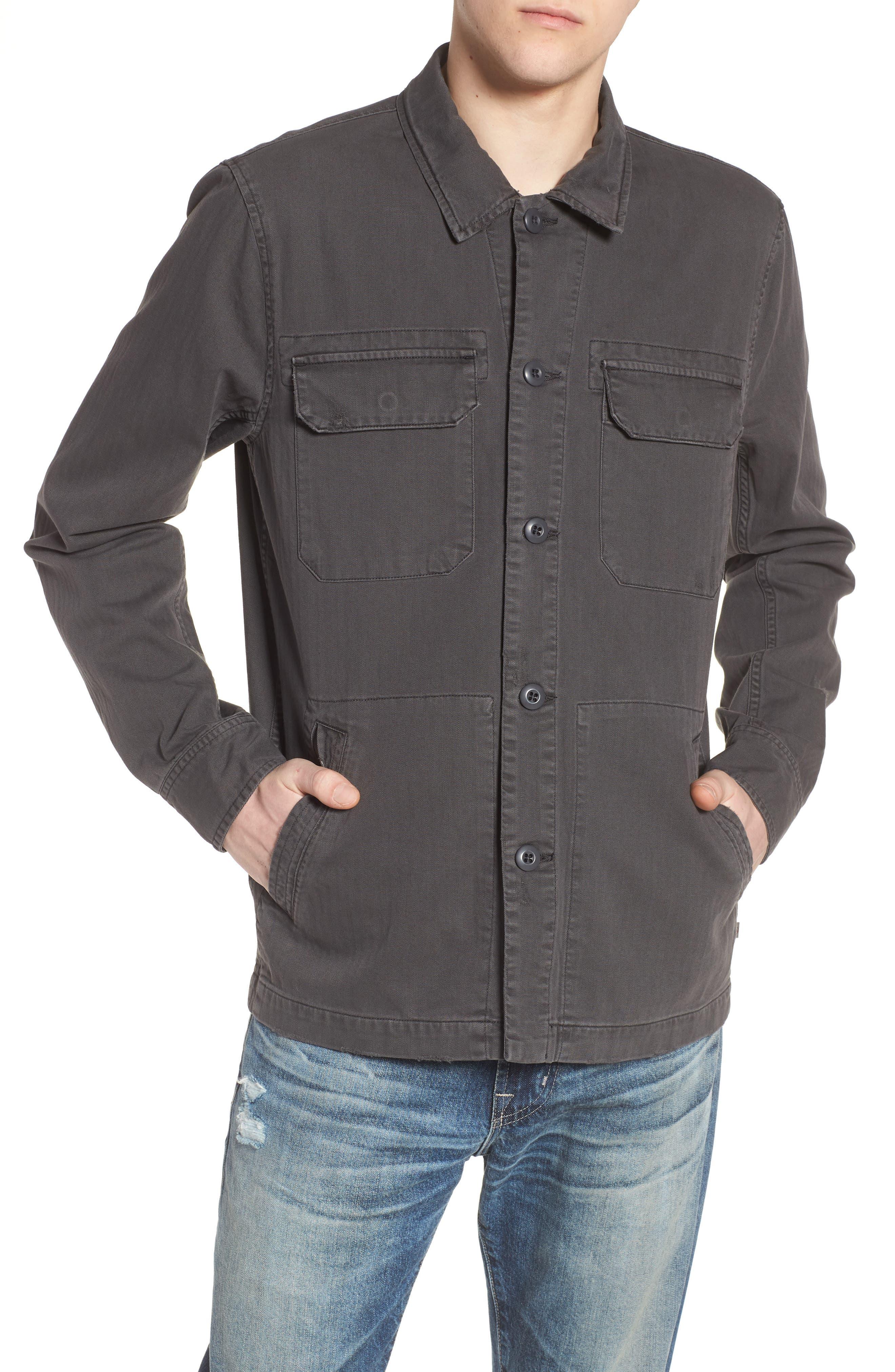 Marx Slim Fit Jacket,                             Alternate thumbnail 4, color,                             5 Years Pigment Smoke Grey