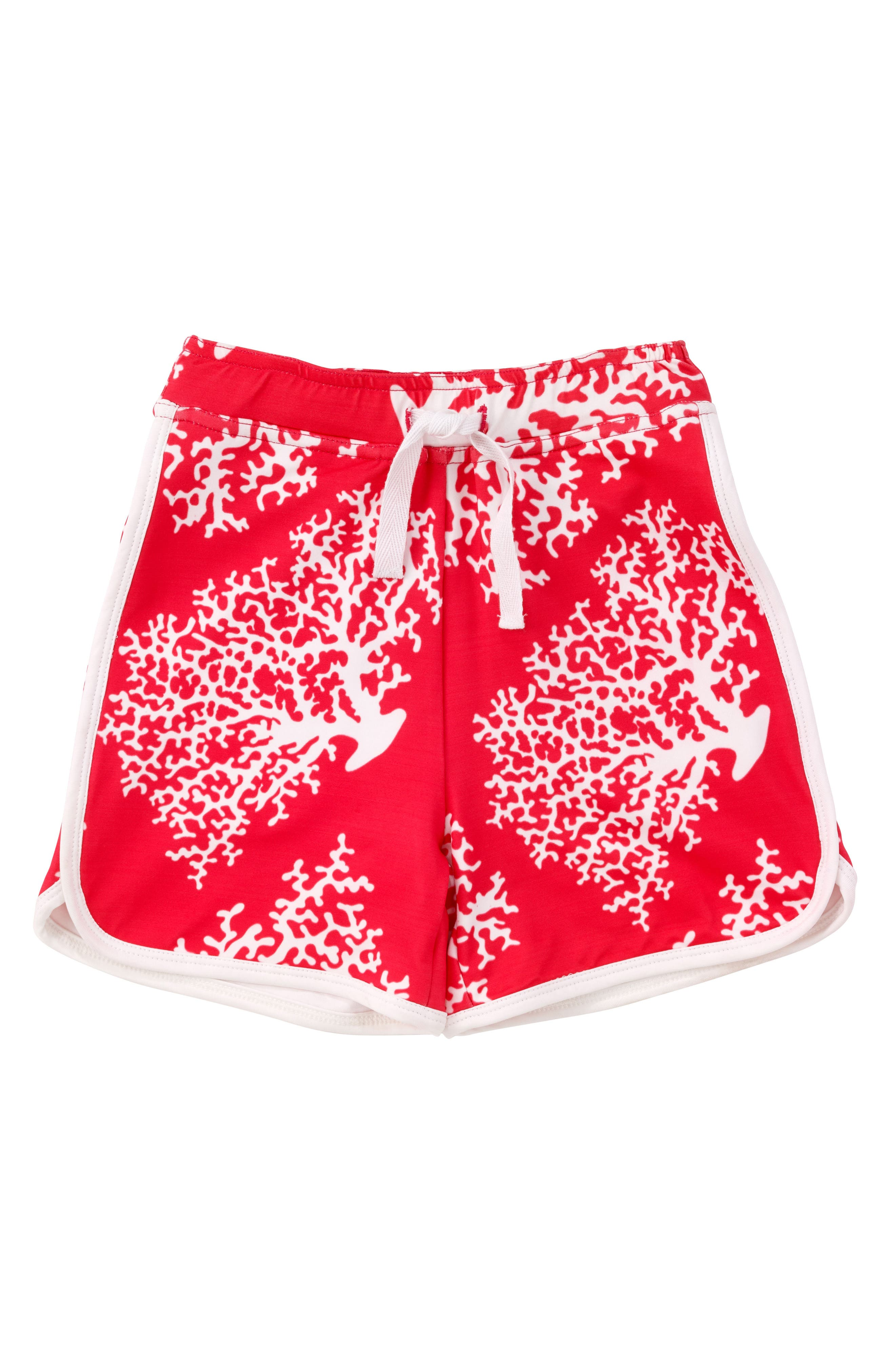 Coral Swim Trunks,                             Main thumbnail 1, color,                             Coral