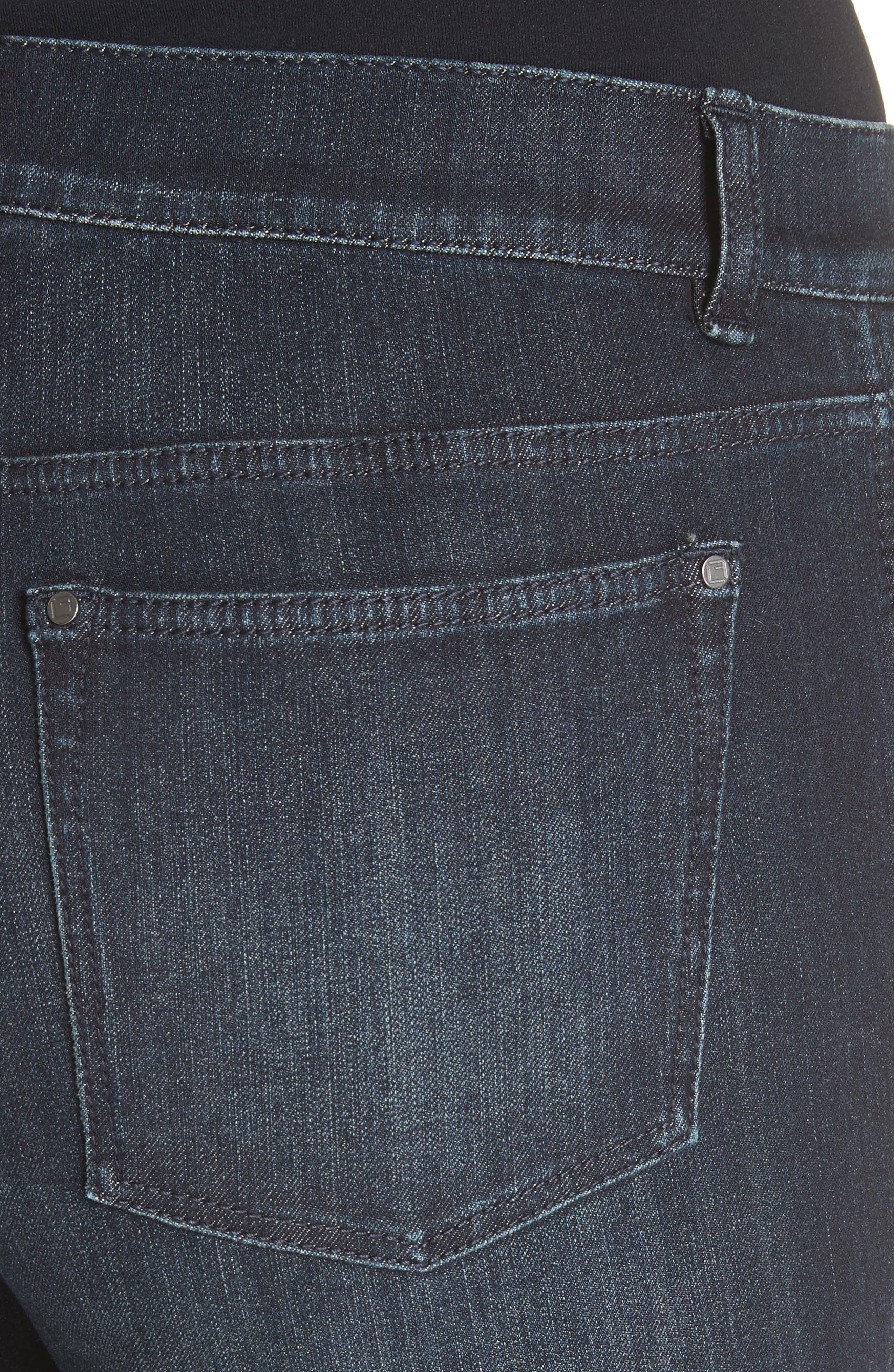 Mercer Skinny Jeans,                             Alternate thumbnail 5, color,                             Indigo