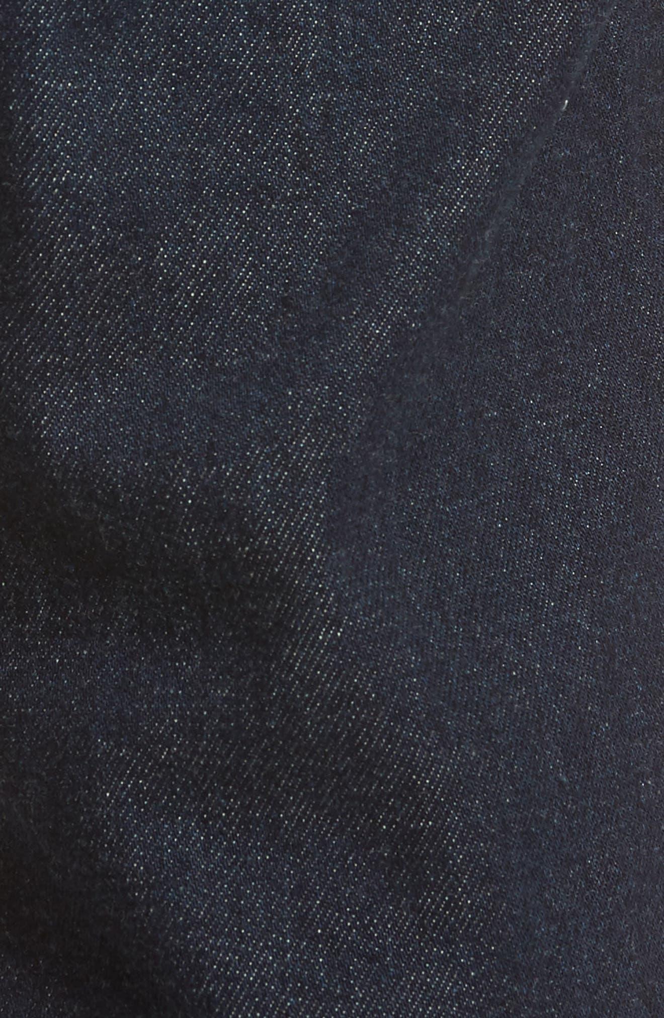 Graduate Slim Straight Leg Jeans,                             Alternate thumbnail 5, color,                             Stafford