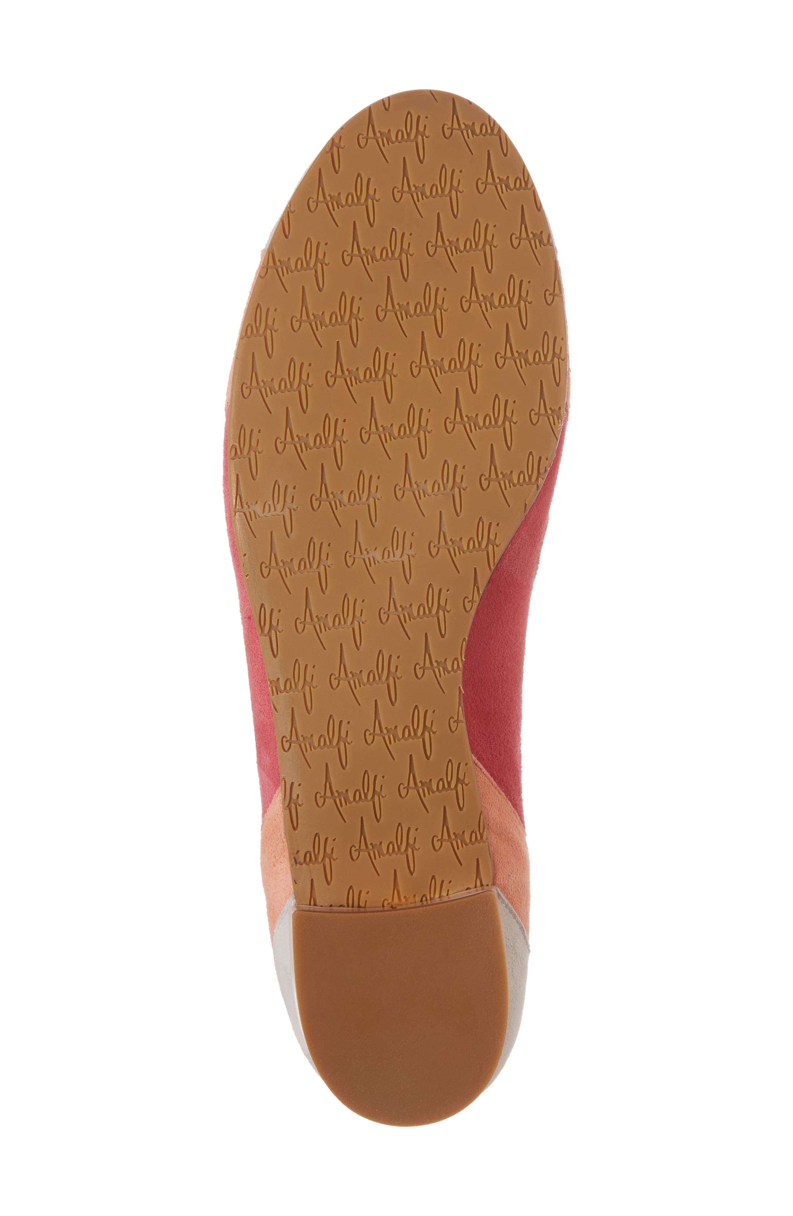 Ginevra Flat,                             Alternate thumbnail 6, color,                             Beige Suede