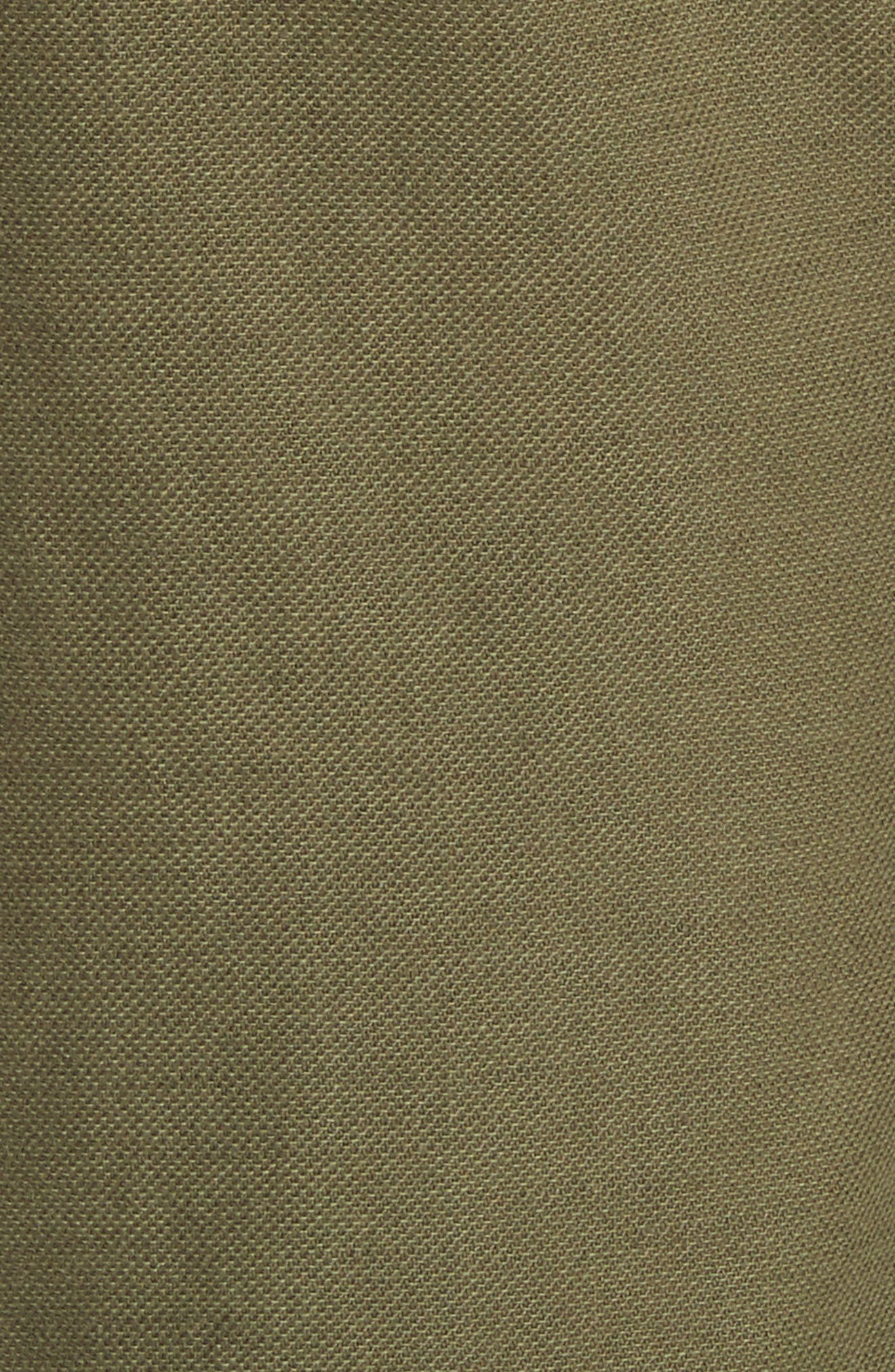 The Saddle Trouser,                             Alternate thumbnail 5, color,                             Army
