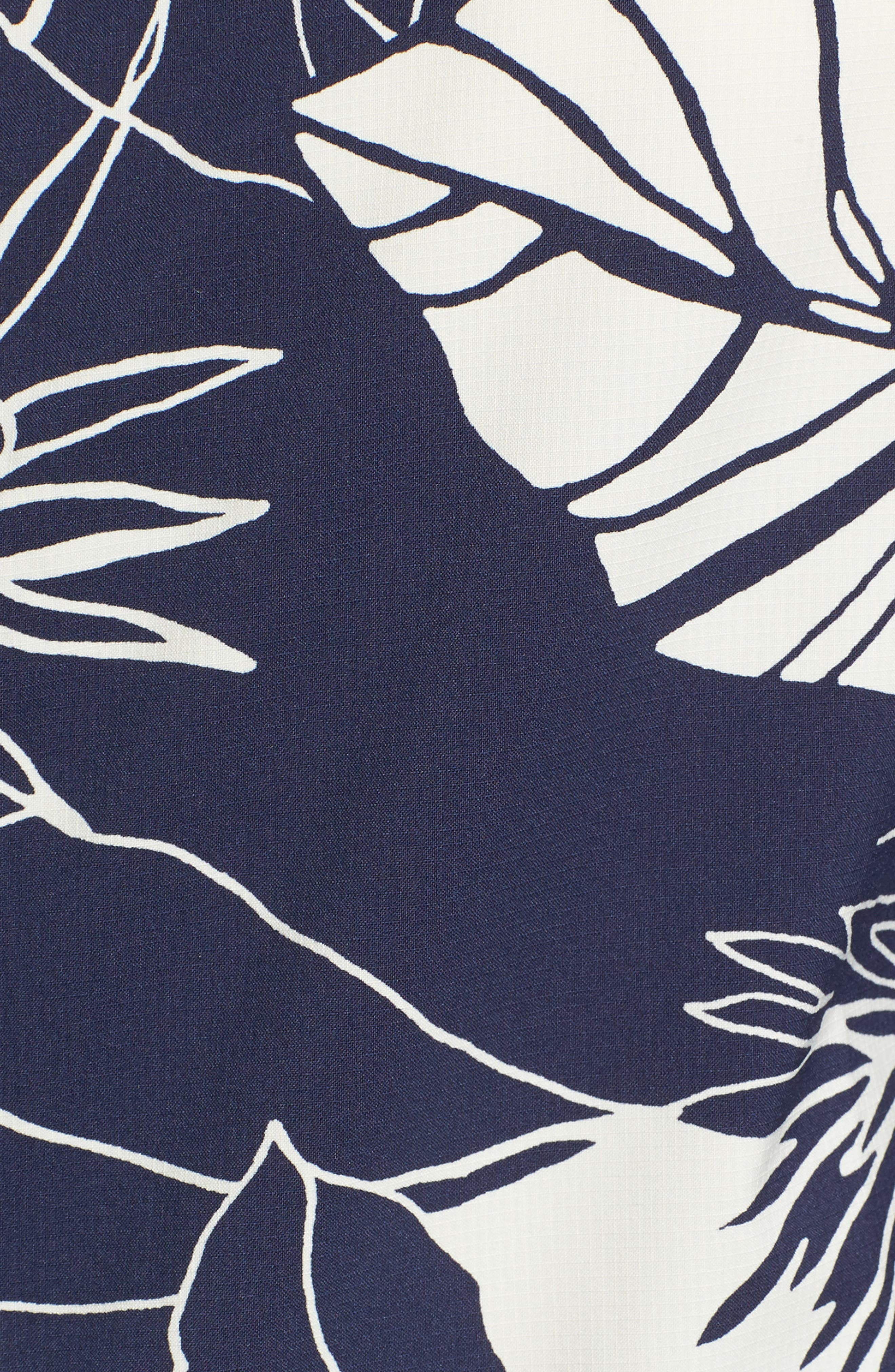 Bajadas Hoodie Jacket,                             Alternate thumbnail 6, color,                             Classic Navy/ Birch White