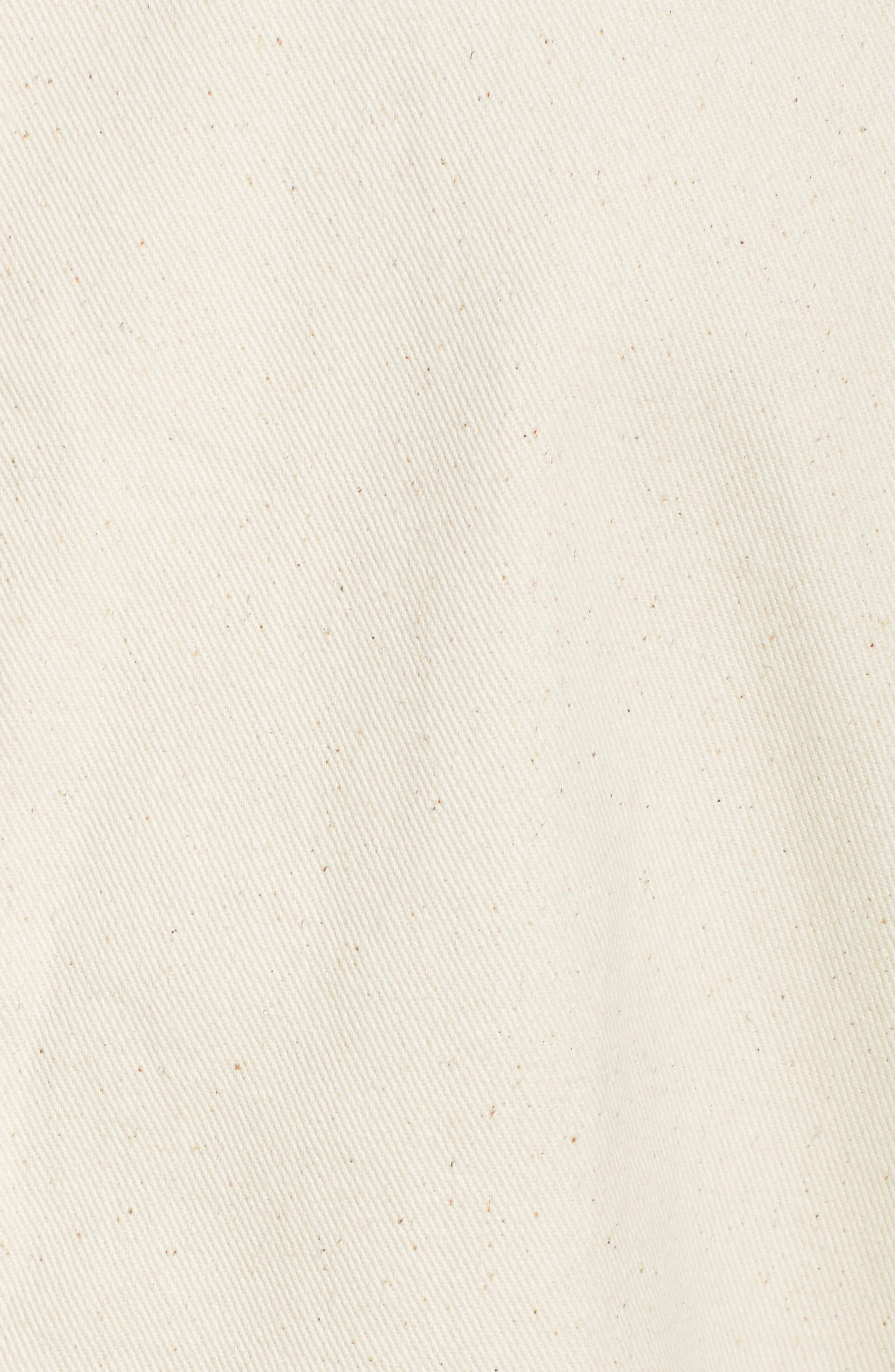 D-Staq 3D Deconstructed Denim Jacket,                             Alternate thumbnail 5, color,                             Ivory