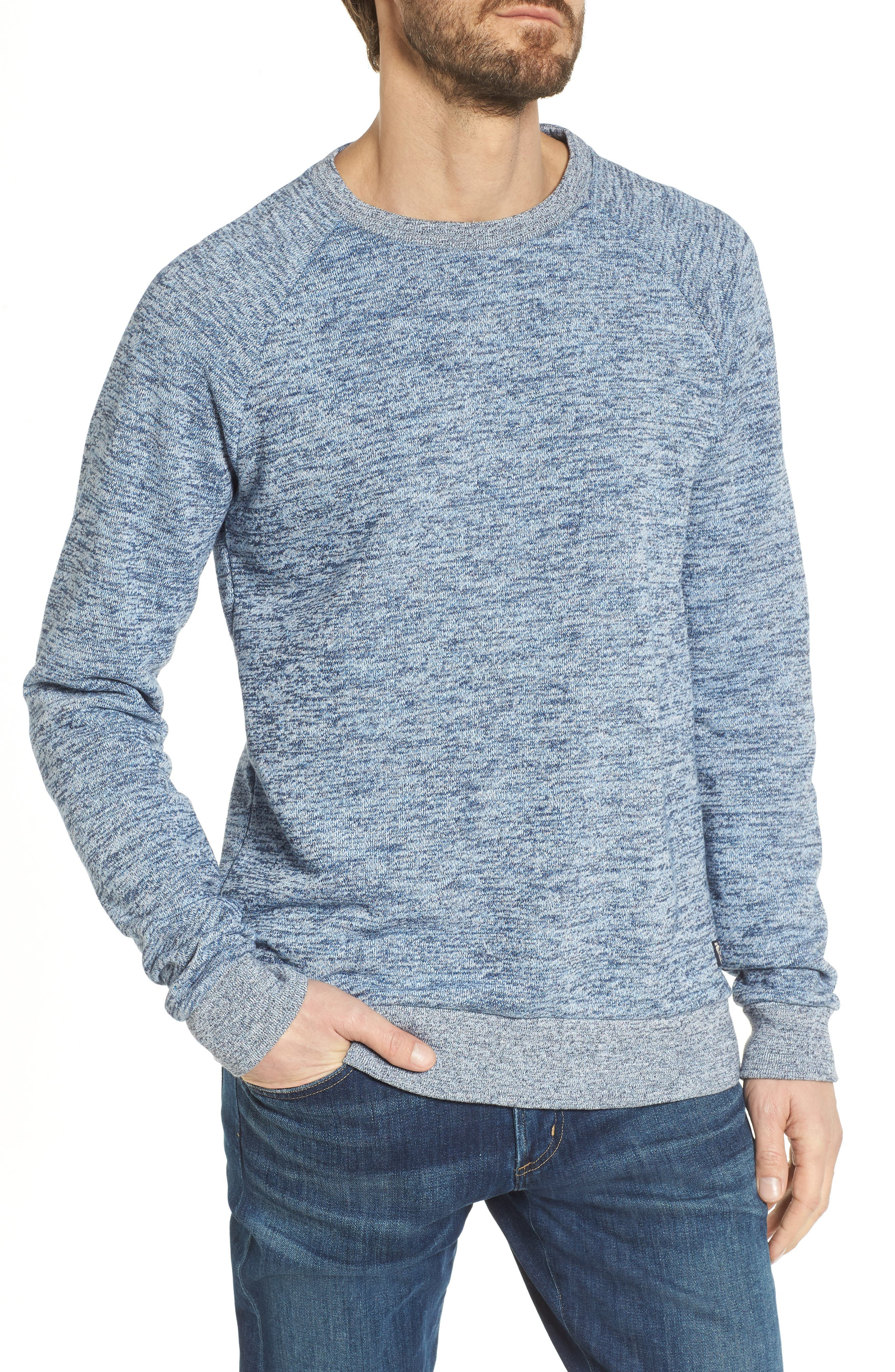 Alternate Image 1 Selected - Scotch & Soda Mélange Sweatshirt