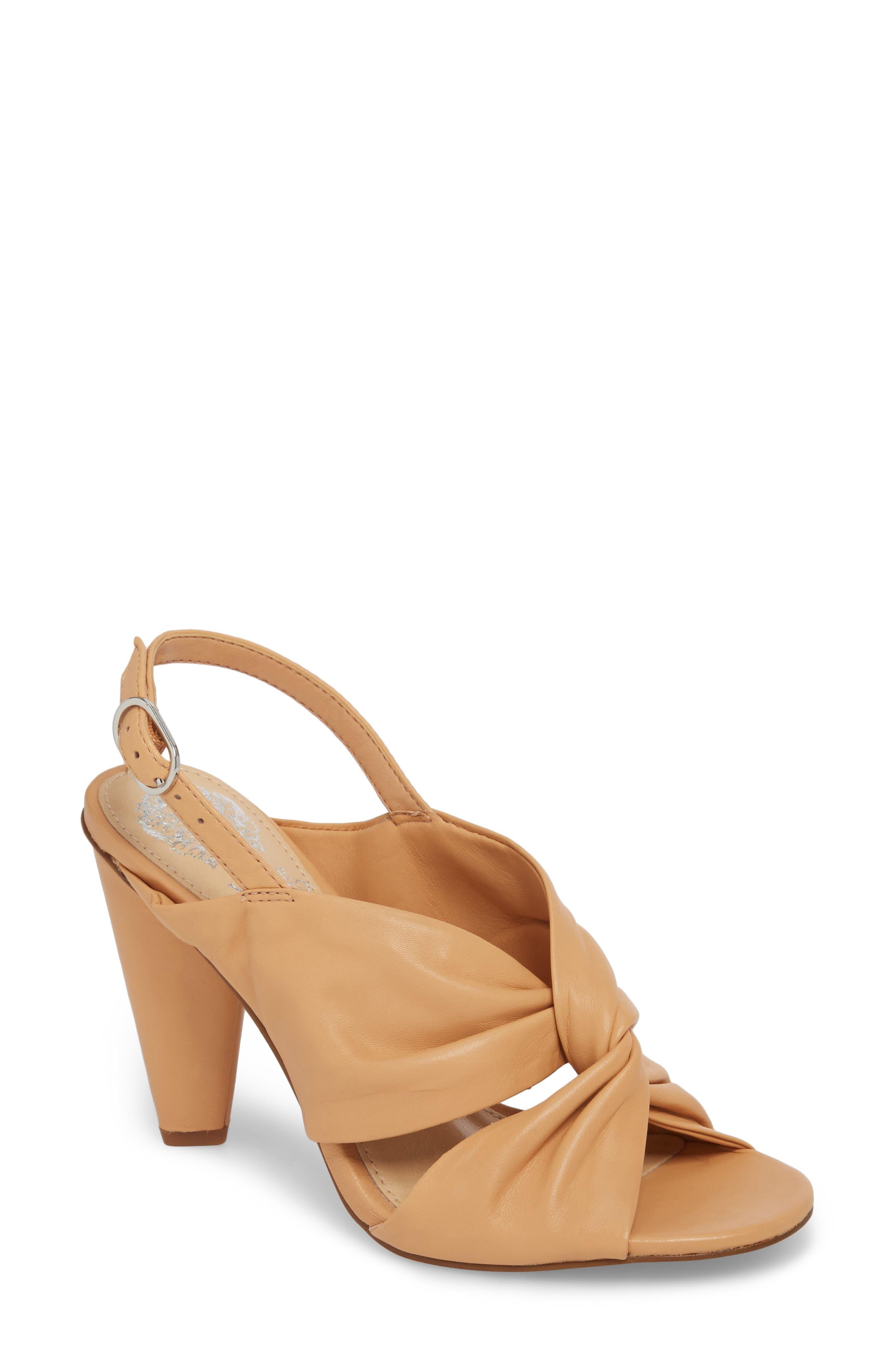 Kattie Slingback Sandal,                         Main,                         color, Privacy Leather