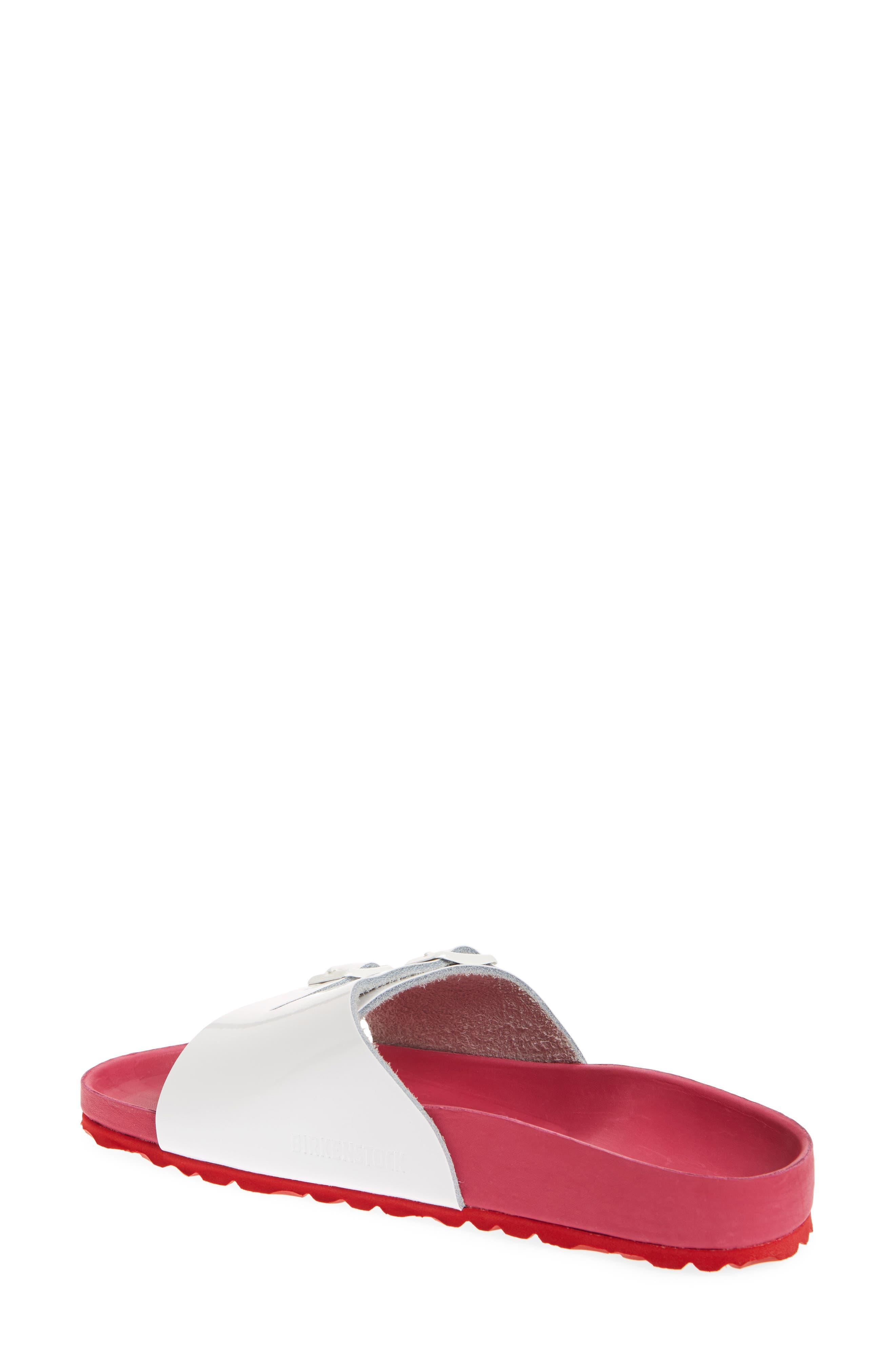 Vaduz Exquisite Limited Edition - Shock Drop Sandal,                             Alternate thumbnail 2, color,                             White Leather