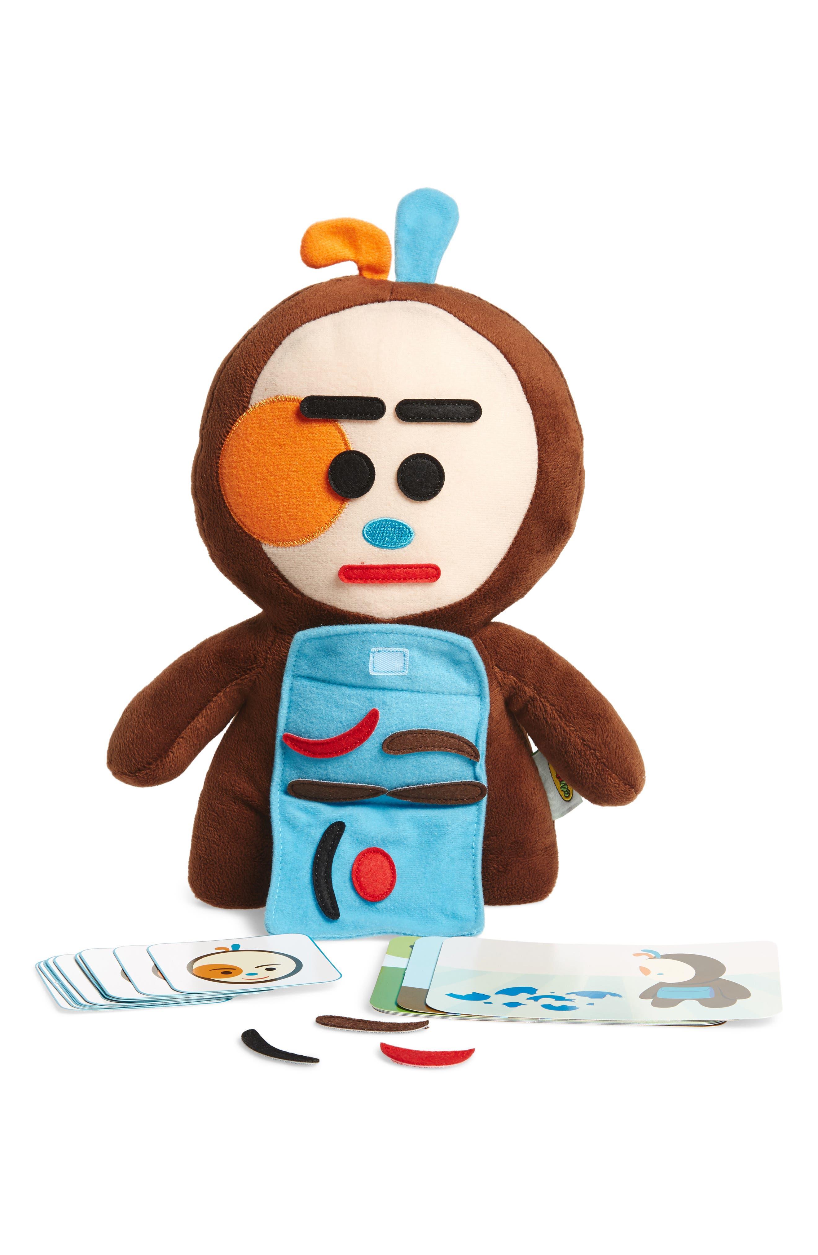 Feelings Friend Stuffed Doll,                             Alternate thumbnail 3, color,                             Brown