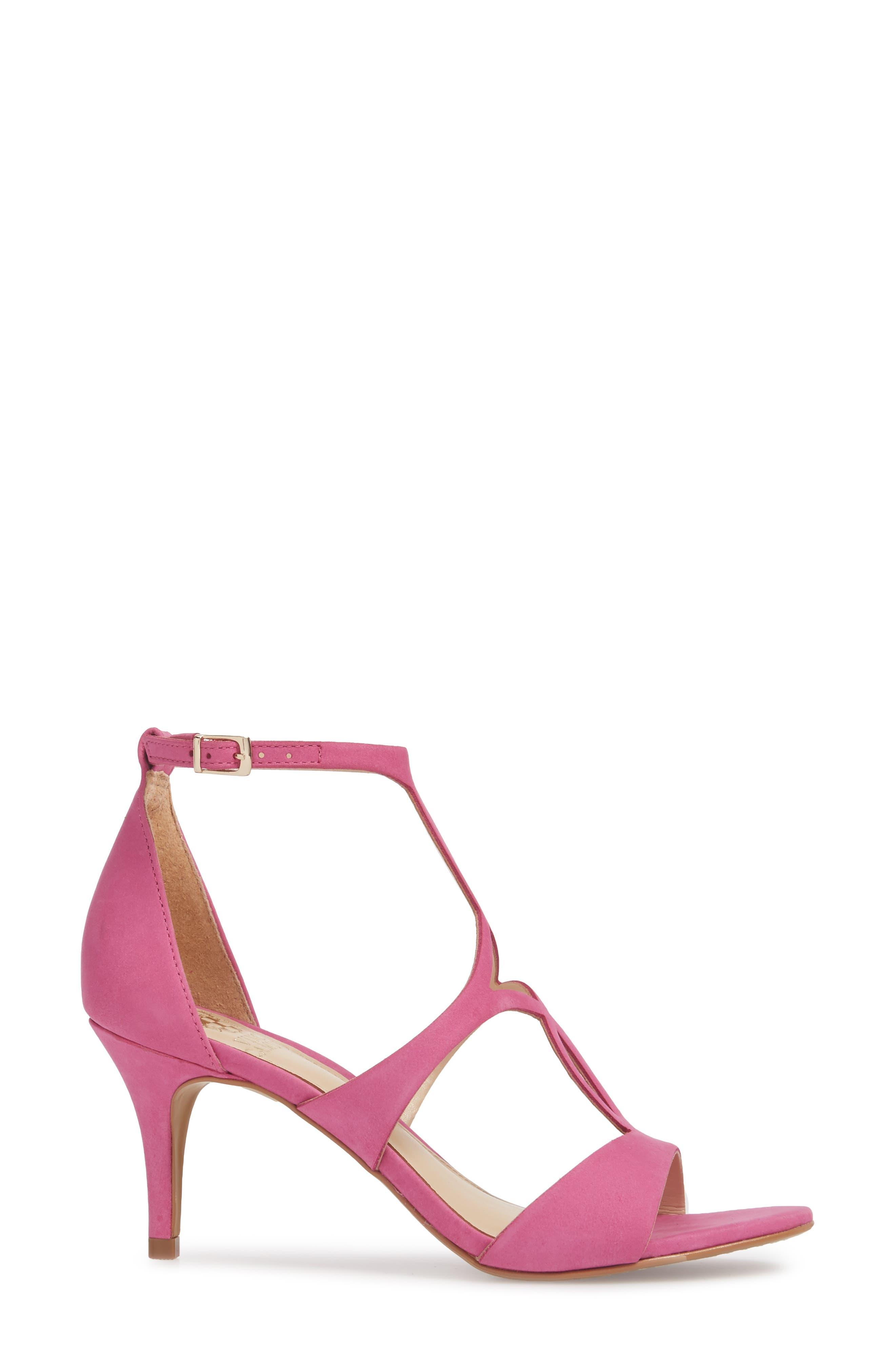 Payto Sandal,                             Alternate thumbnail 3, color,                             Pink Leather