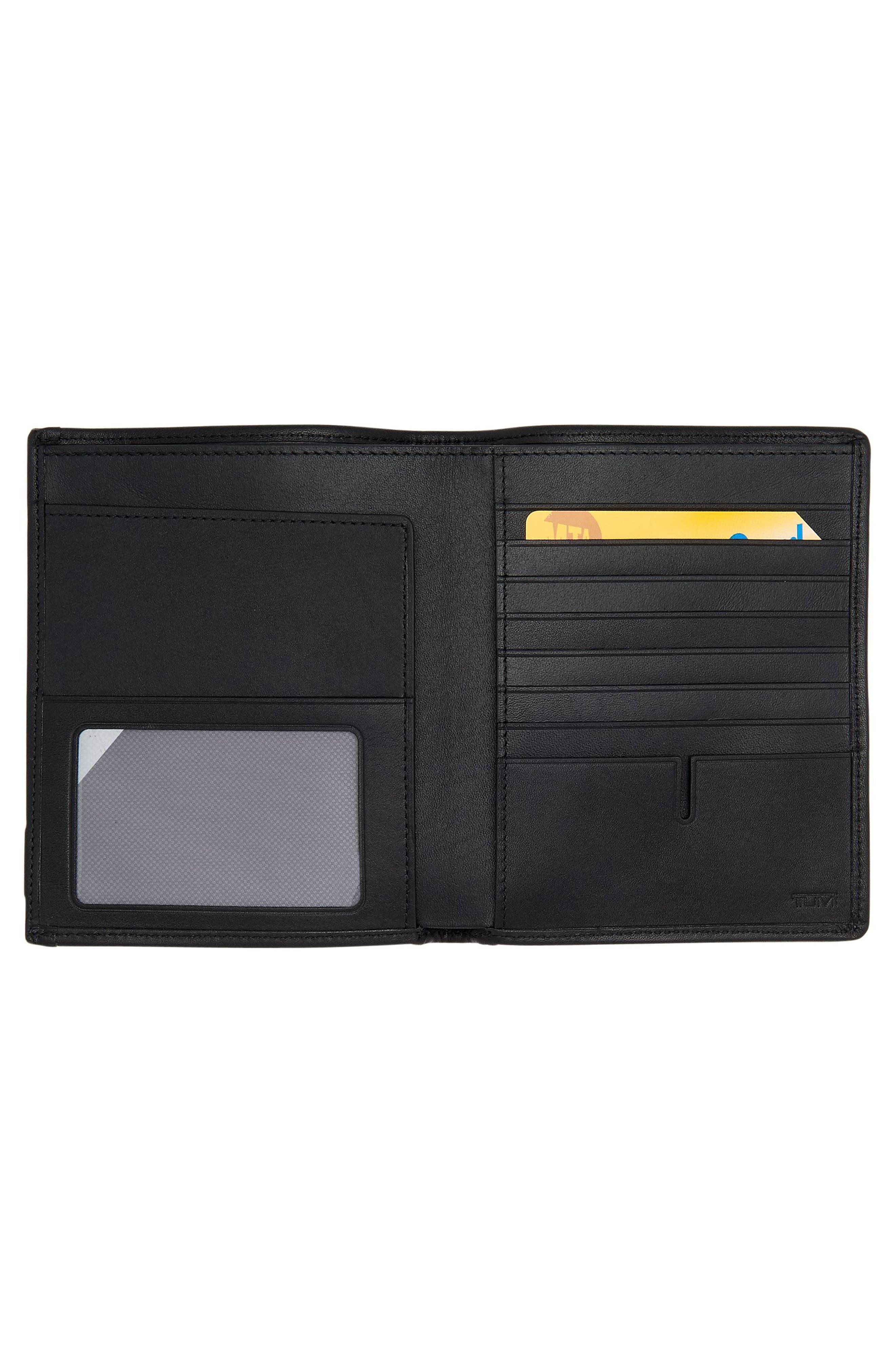 Alpha Passport Case,                             Alternate thumbnail 2, color,                             Anthracite/ Black