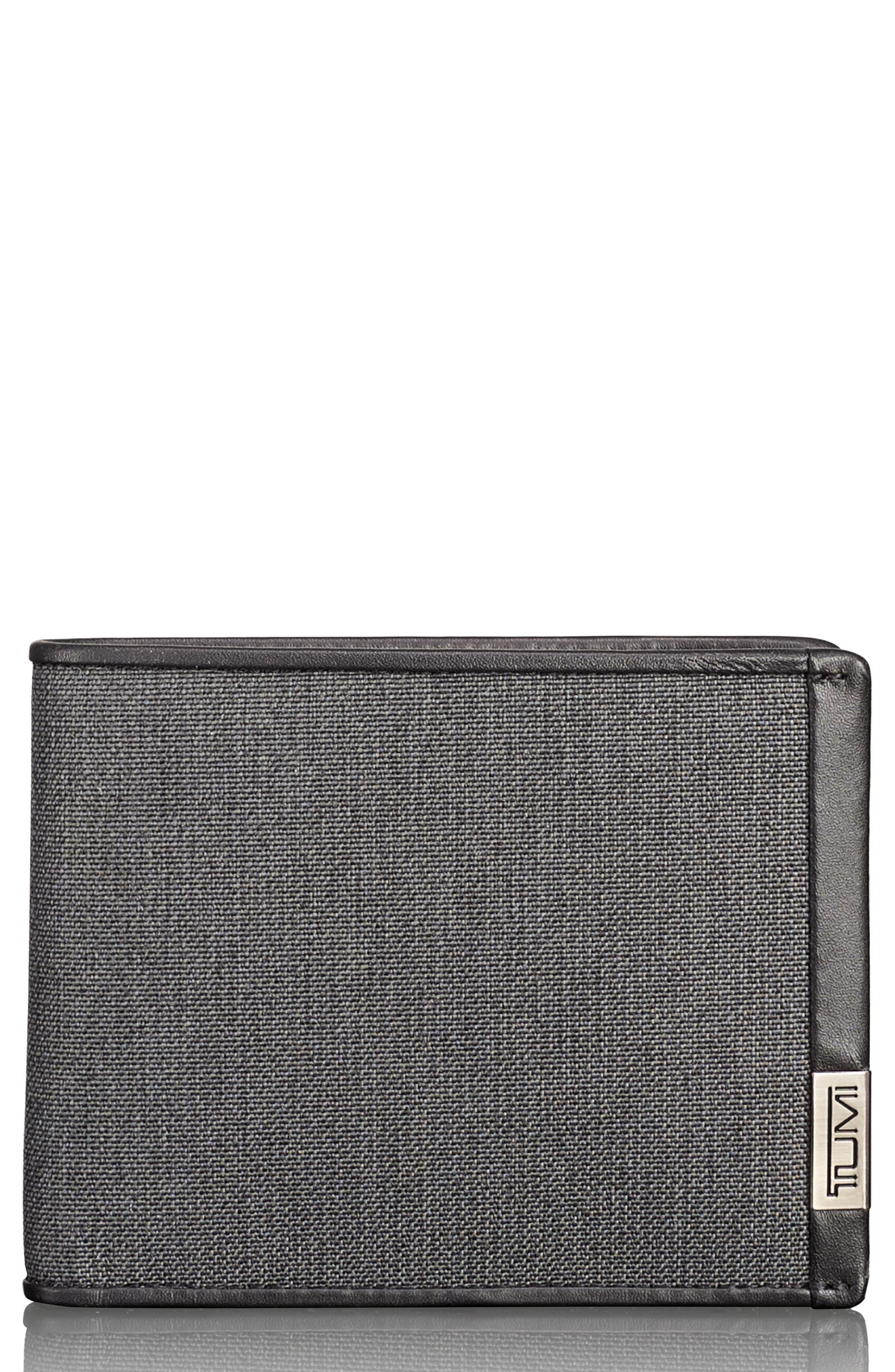 Alpha Global Wallet,                         Main,                         color, Anthracite/ Black