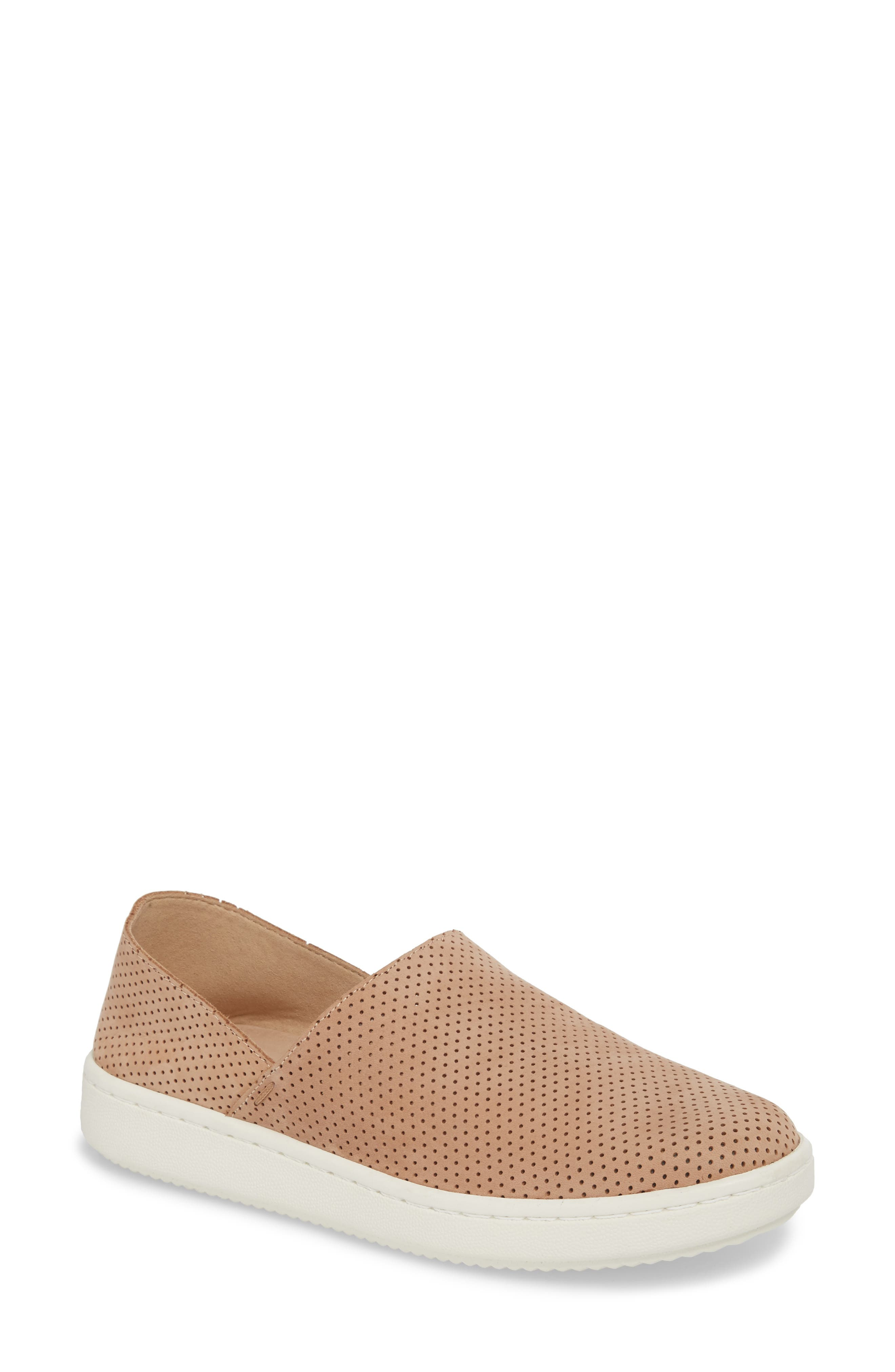 Alternate Image 1 Selected - Eileen Fisher Panda Perforated Slip-On Sneaker (Women)