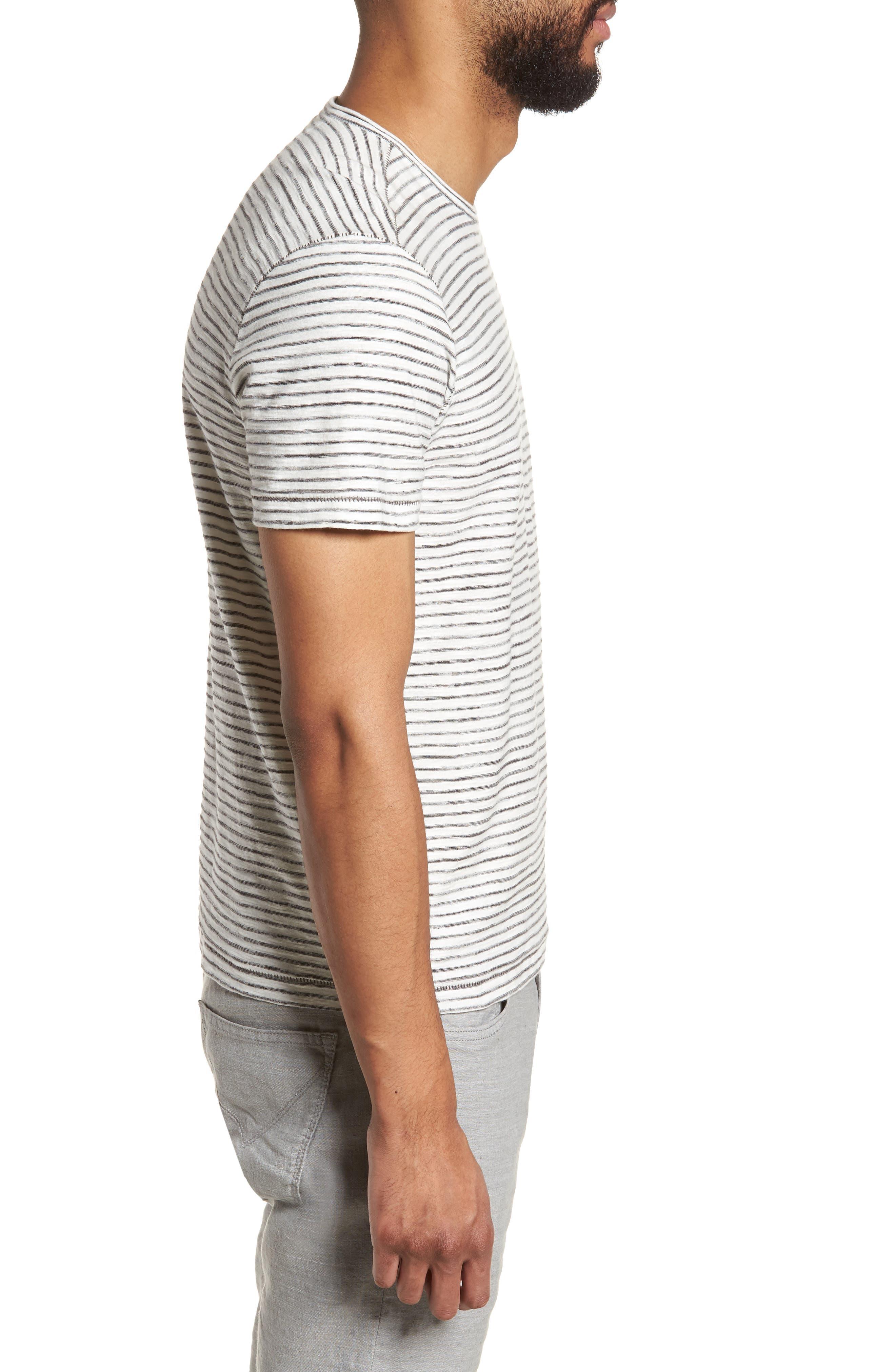 Slim Fit T-Shirt,                             Alternate thumbnail 3, color,                             White