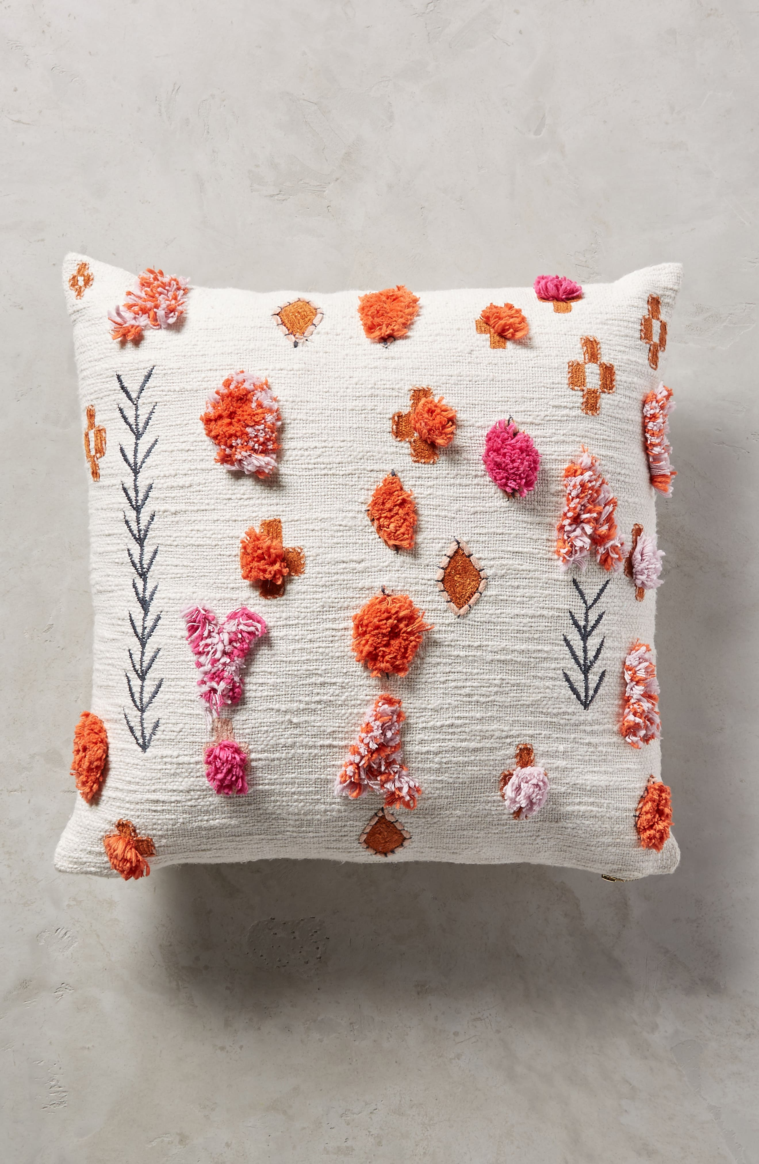 Heradia Accent Pillow,                         Main,                         color, White