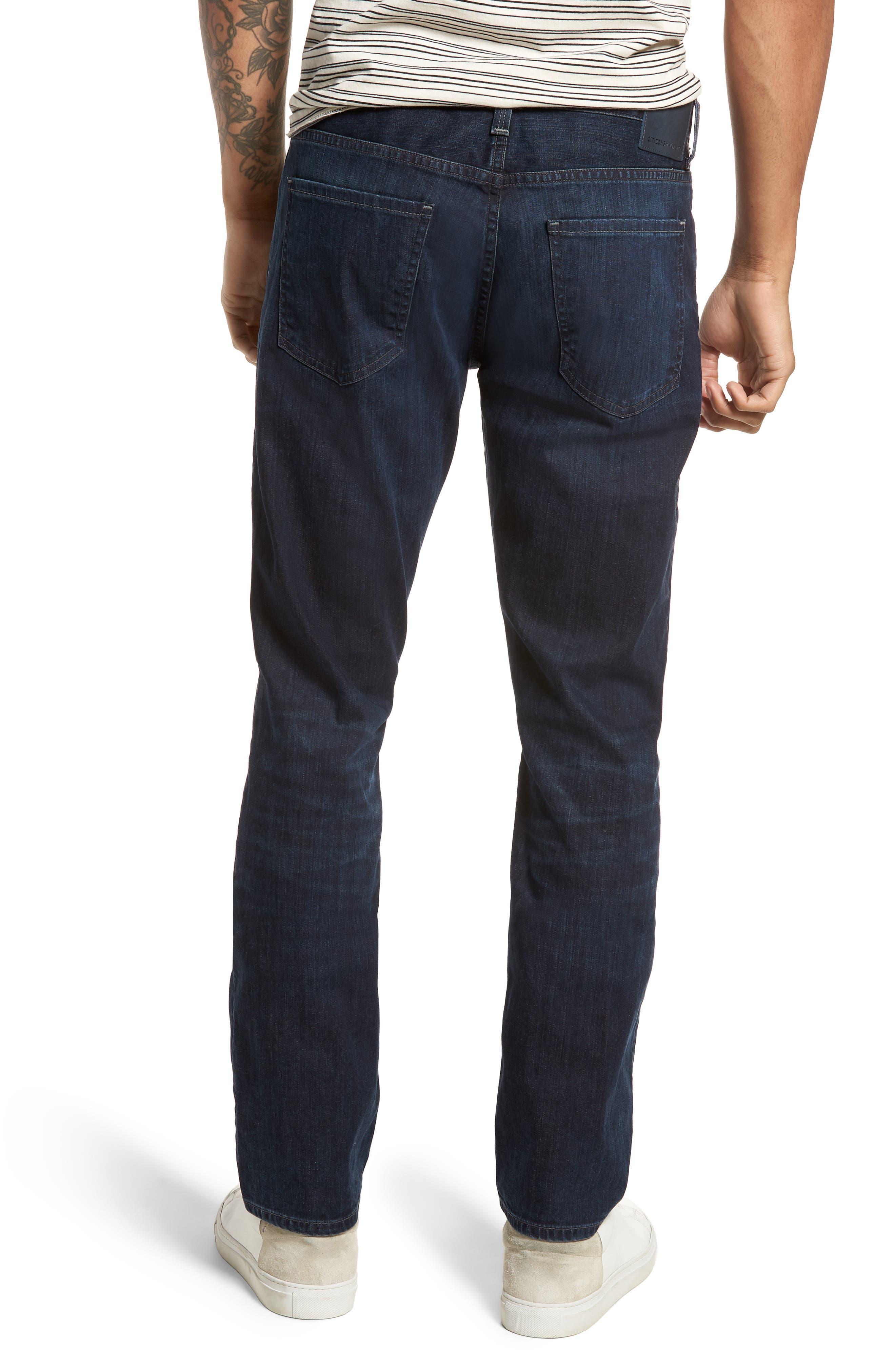 Gage Slim Straight Leg Jeans,                             Alternate thumbnail 2, color,                             Newman