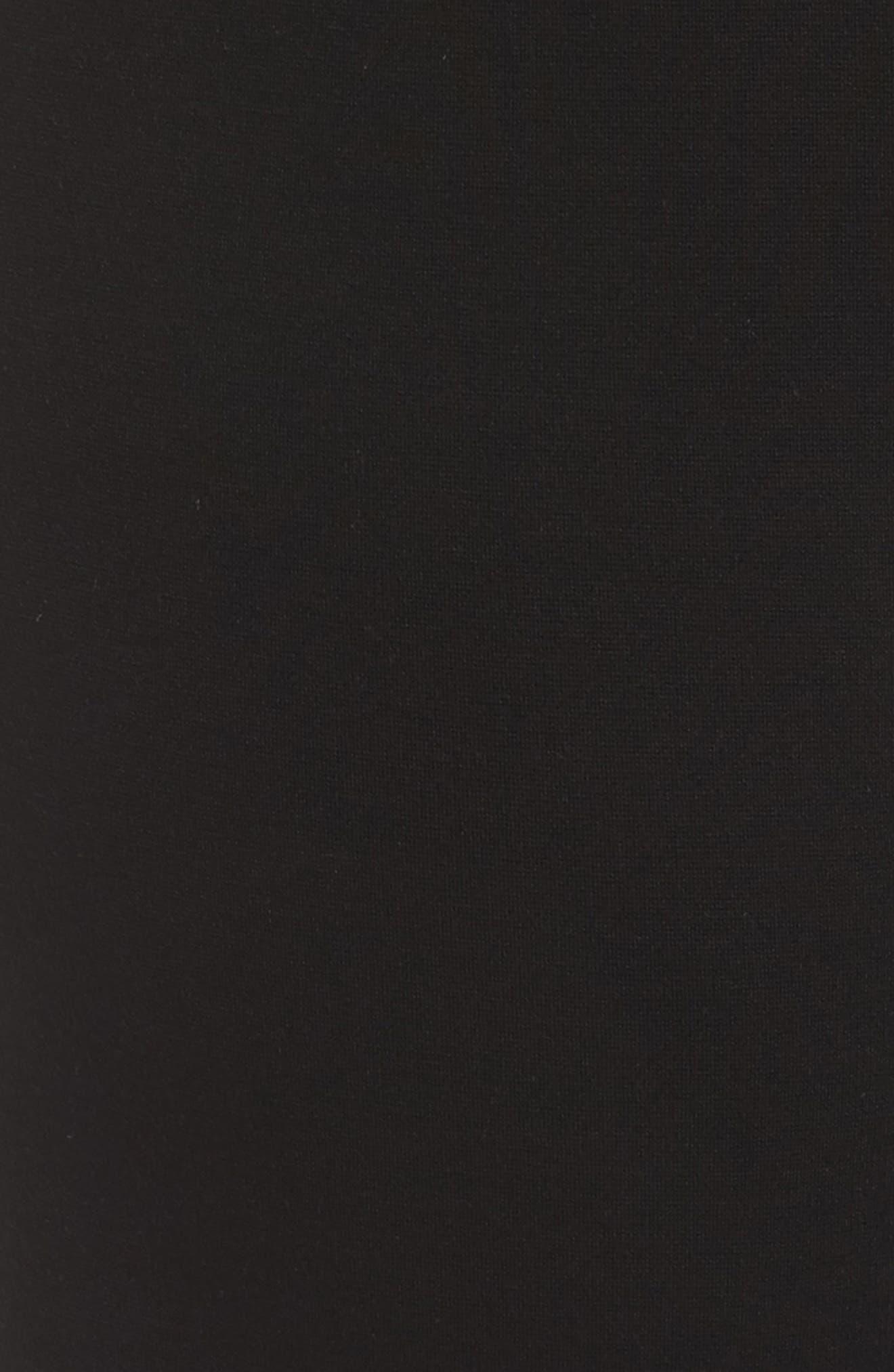 Straight Leg Pants,                             Alternate thumbnail 6, color,                             Black