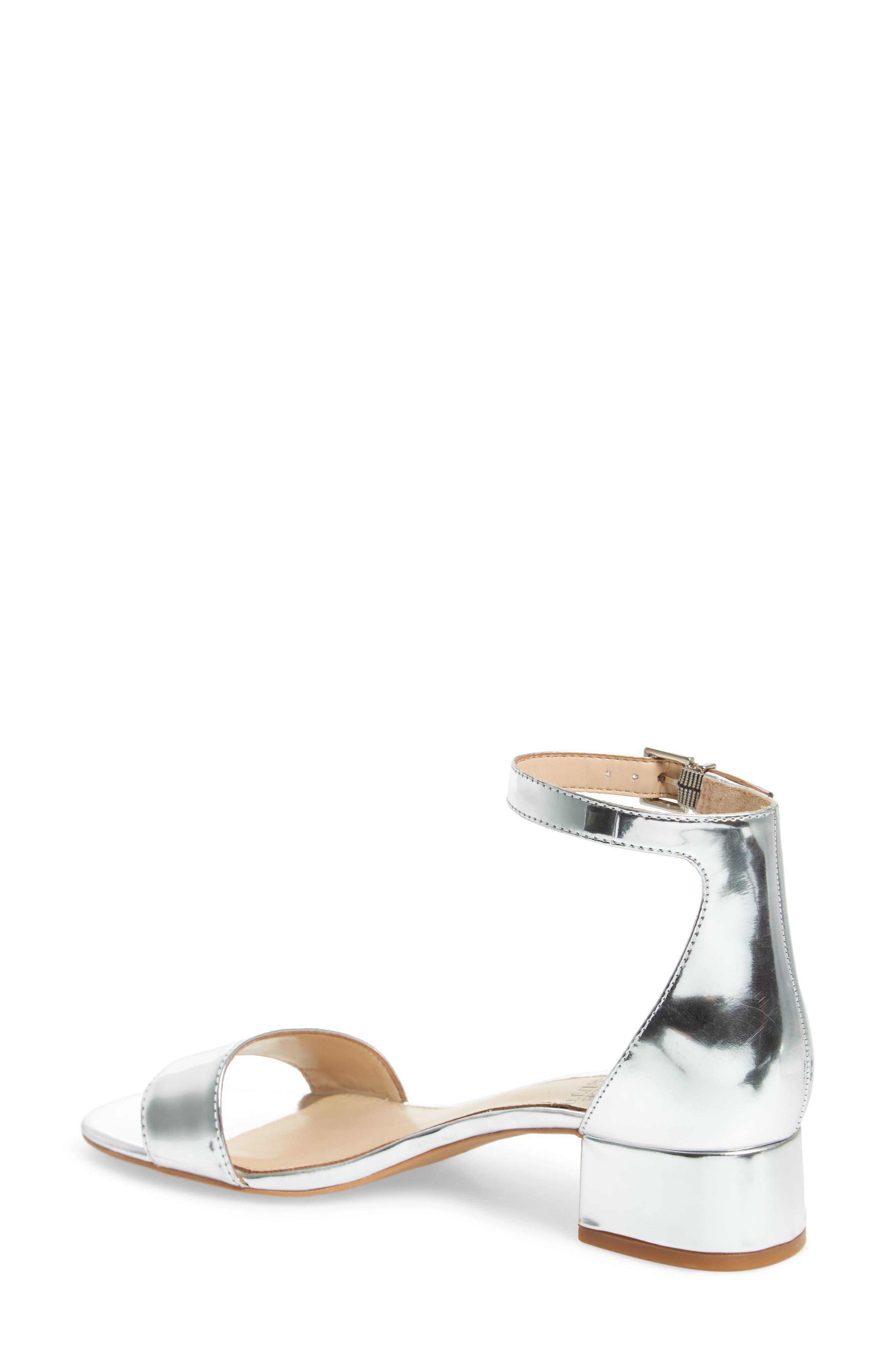 Sasseta Sandal,                             Alternate thumbnail 2, color,                             Bright Silver