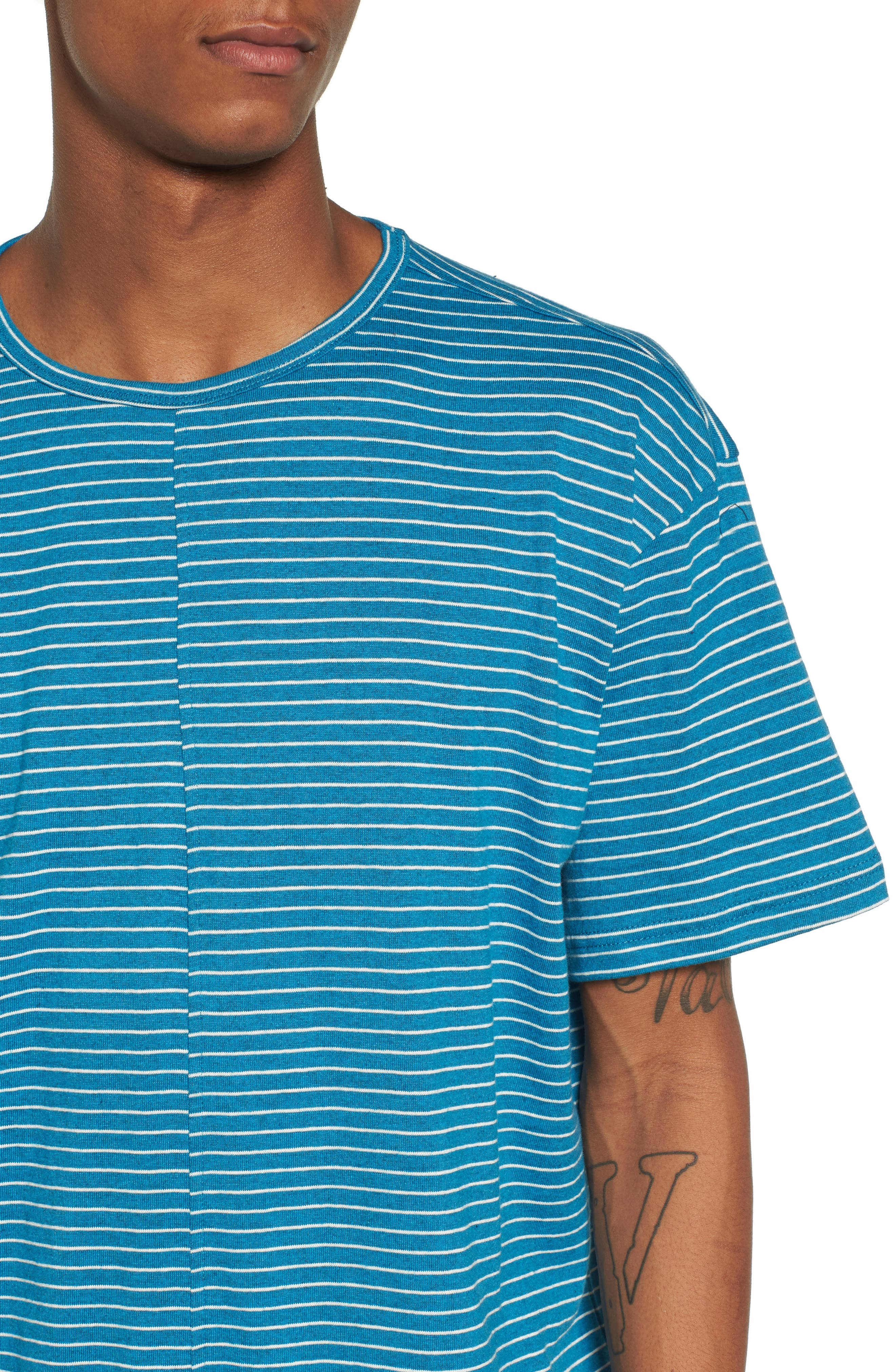 Boost T-Shirt,                             Alternate thumbnail 4, color,                             Teal