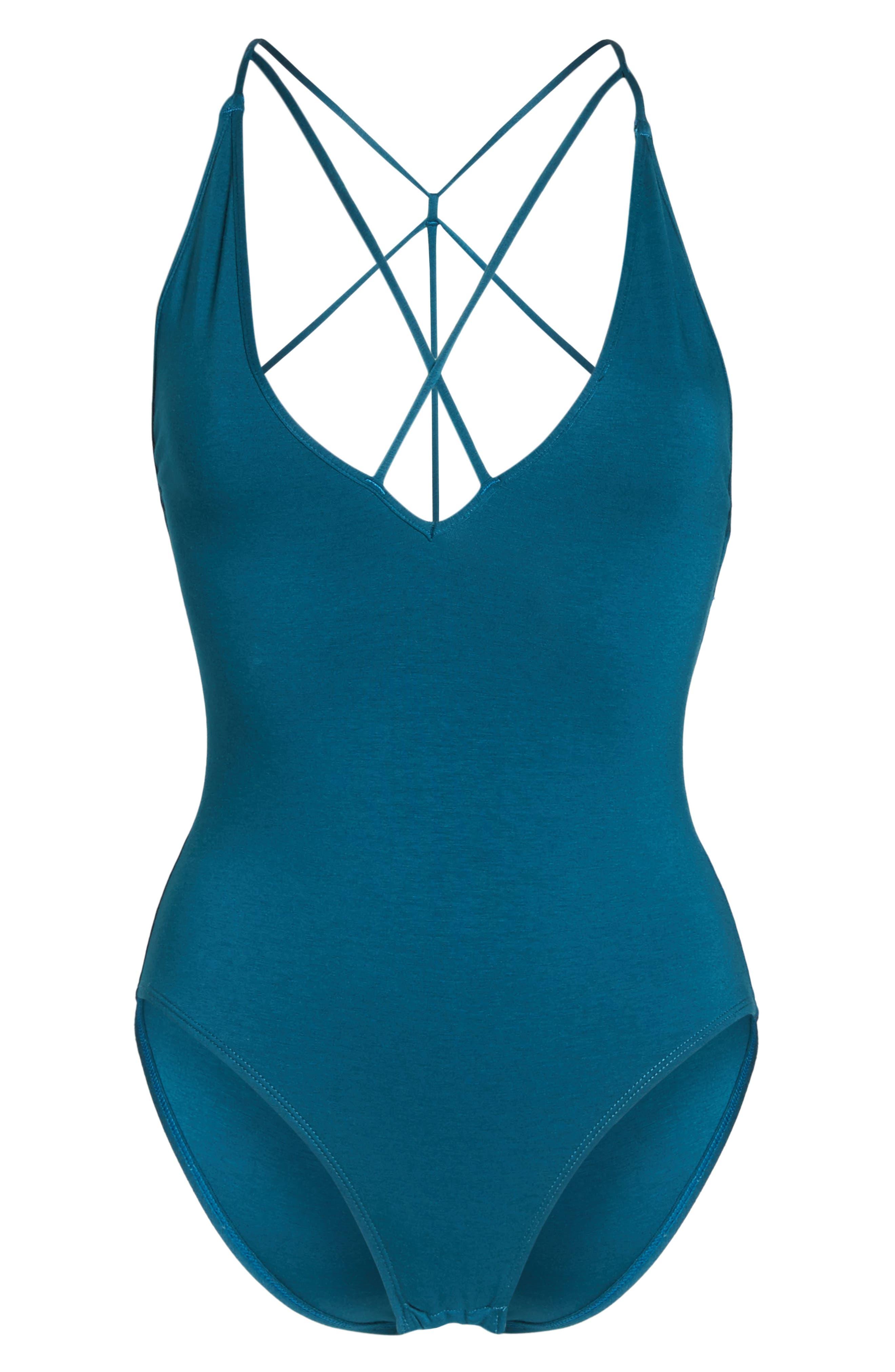 Alternate Image 4  - Sam Edelman Strappy Bodysuit