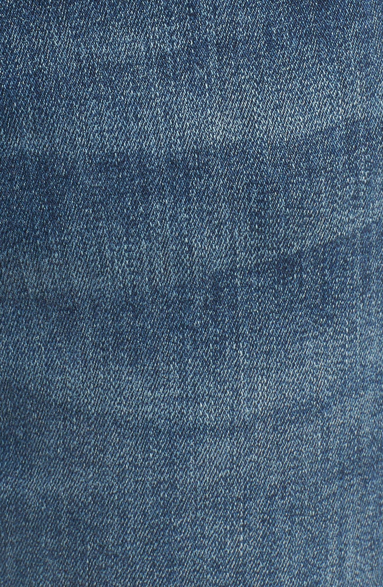 Farrow Instaslim High Waist Skinny Jeans,                             Alternate thumbnail 5, color,                             Wells