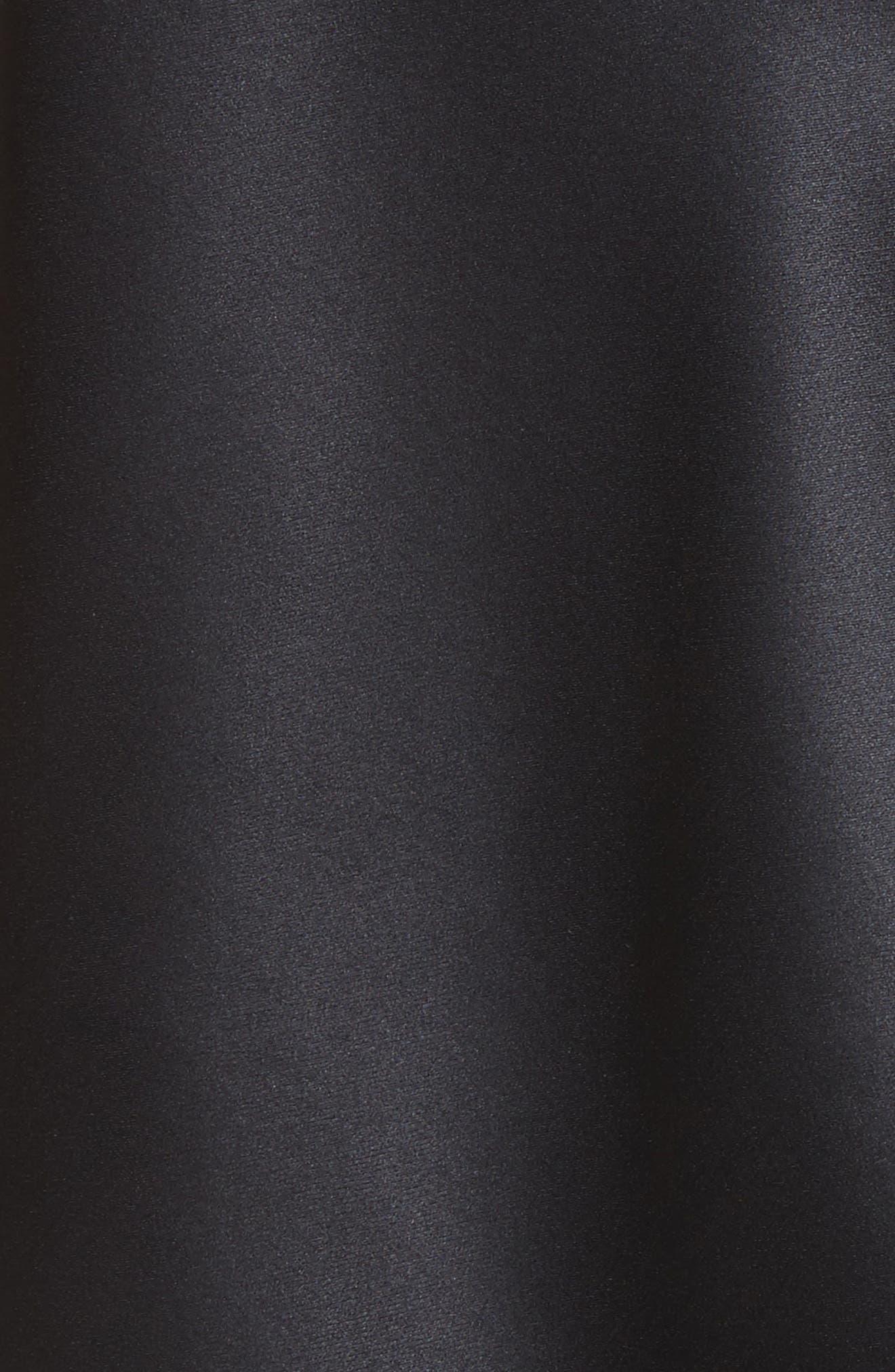 Claire Lace Pocket Camisole,                             Alternate thumbnail 5, color,                             Black