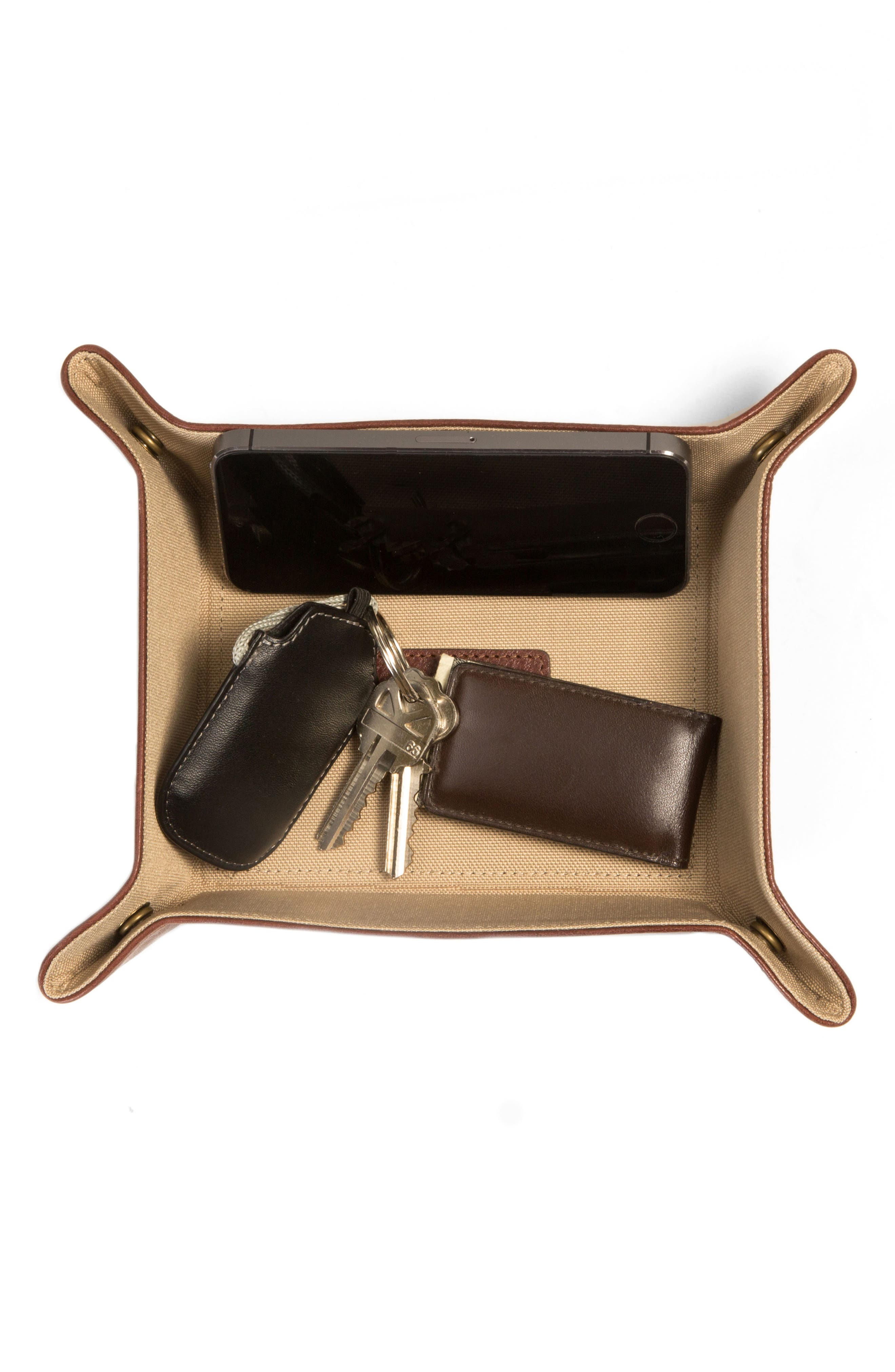 Becker Catchall Tray,                             Alternate thumbnail 6, color,                             Whiskey