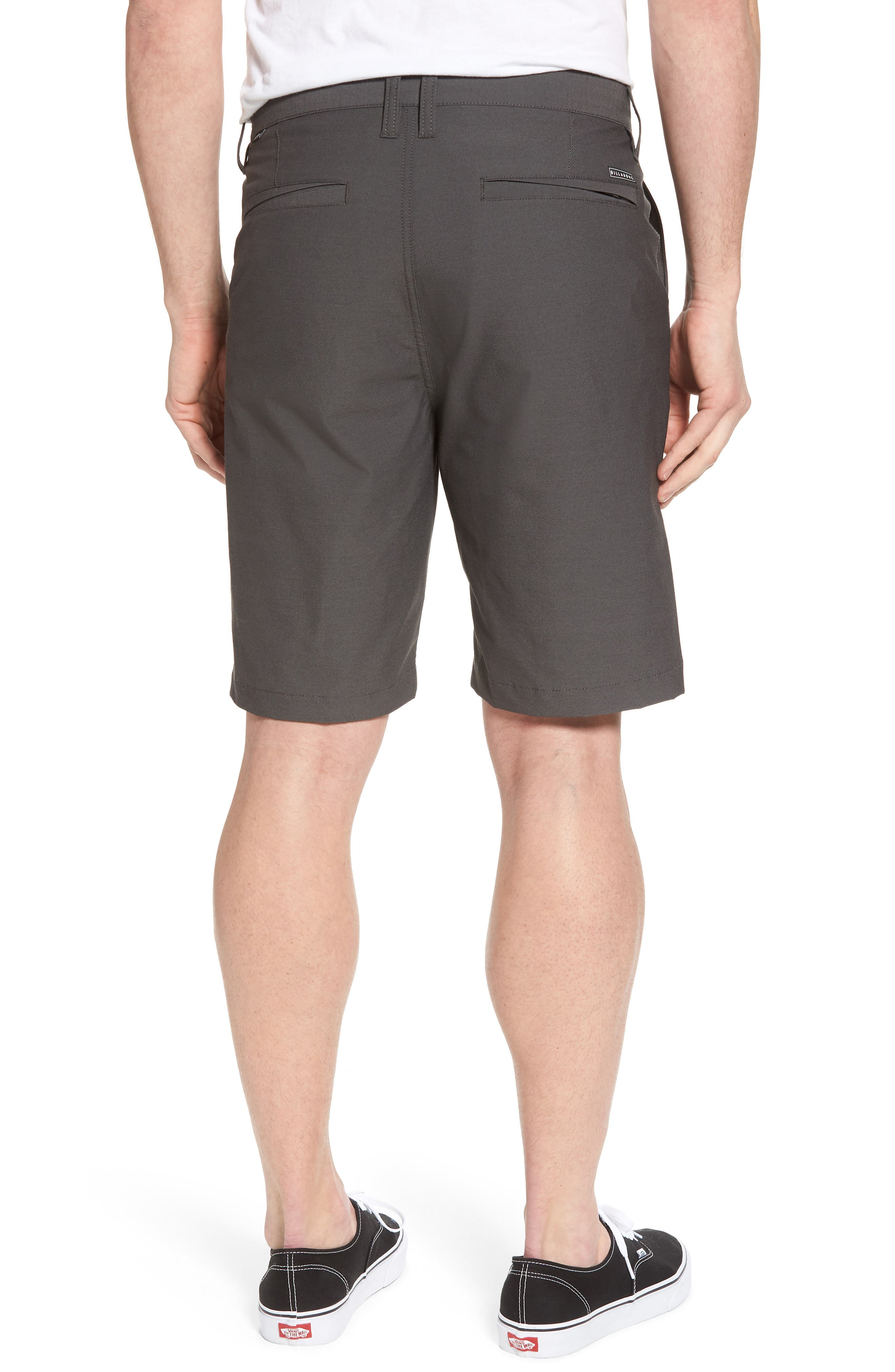Crossfire X Submersible Twill Shorts,                             Alternate thumbnail 2, color,                             Black
