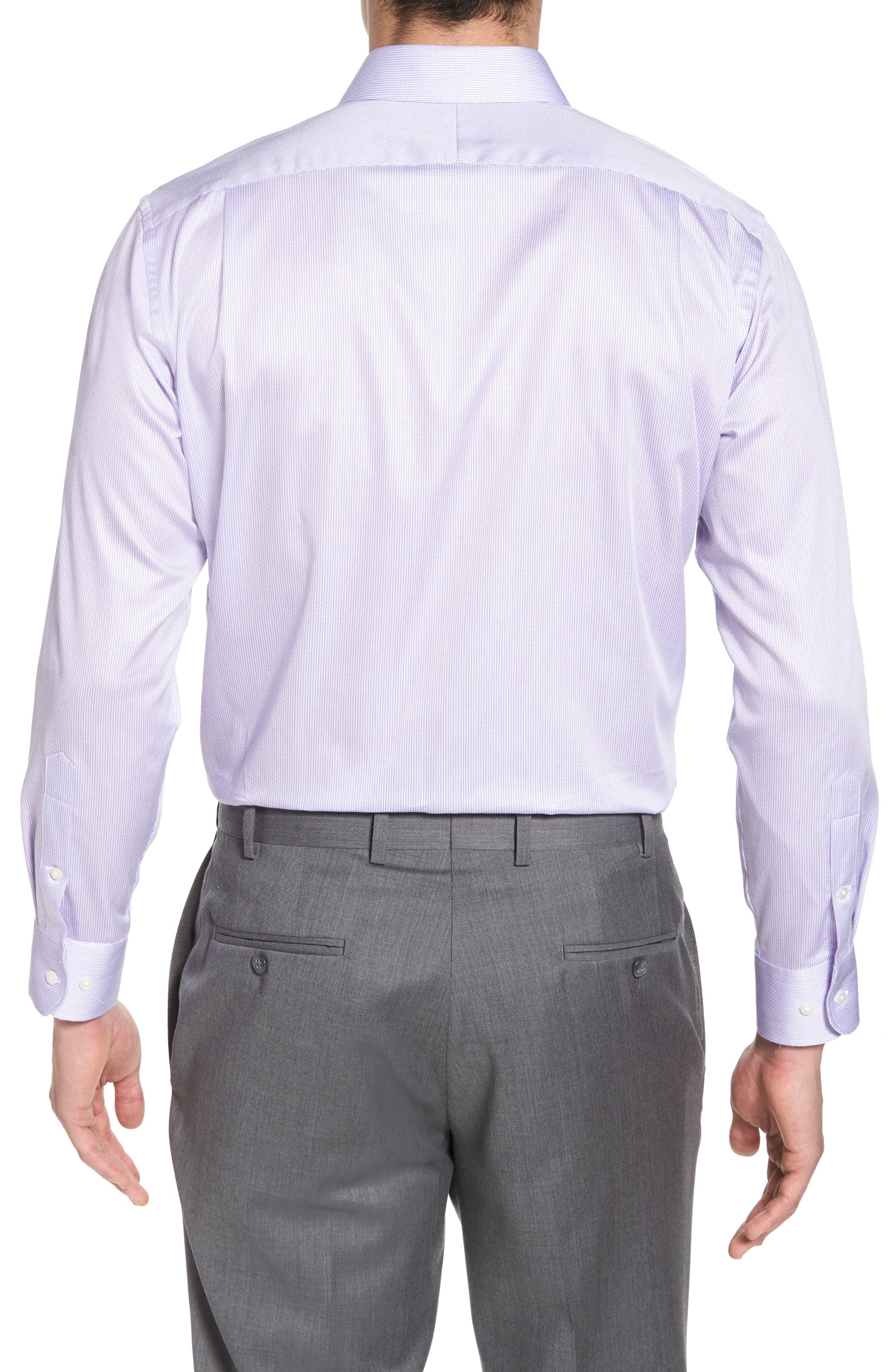 Alternate Image 2  - Nordstrom Men's Shop Trim Fit Stripe Dress Shirt