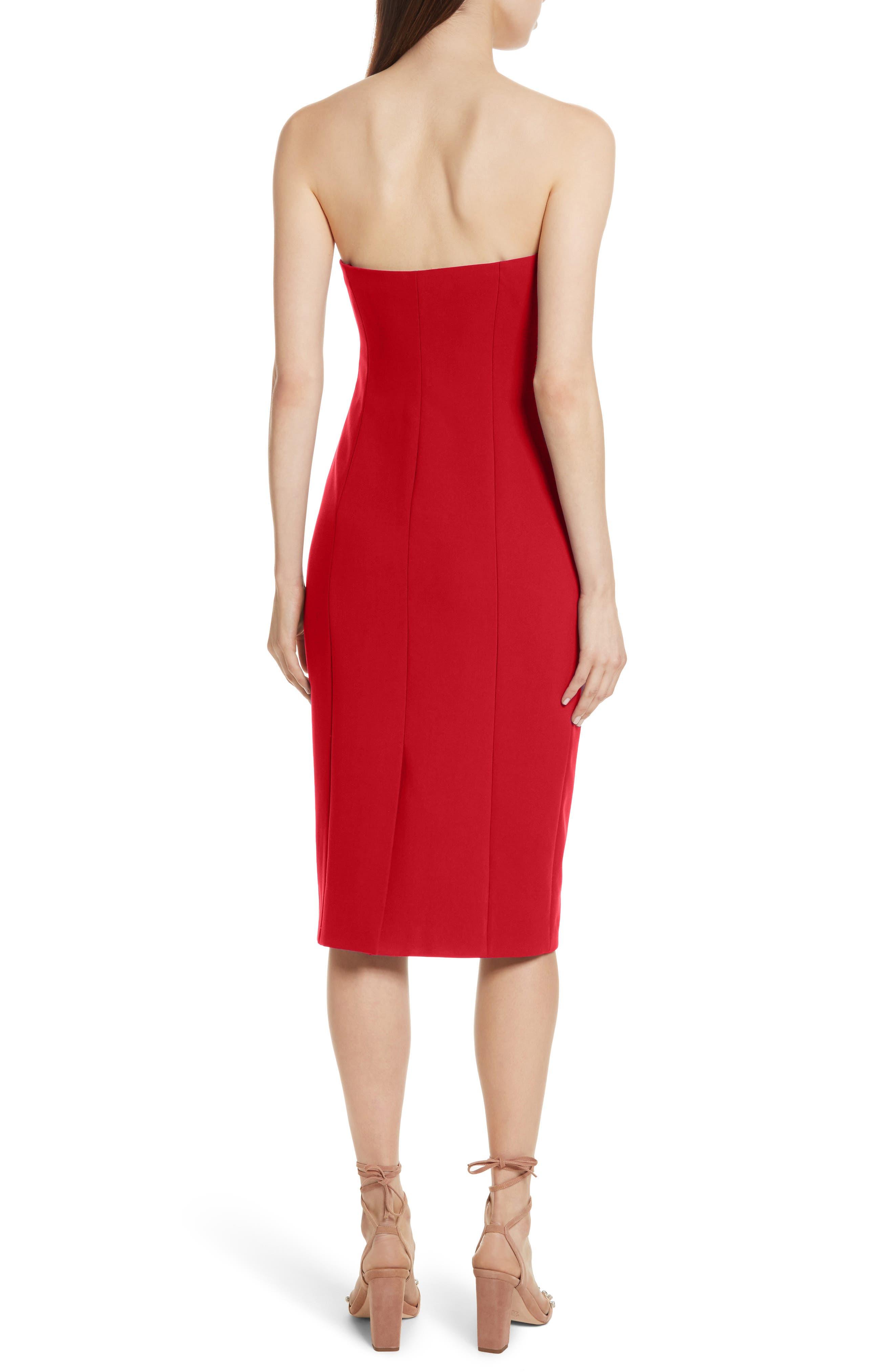 Alternate Image 2  - Cinq à Sept Jolie Marceau Strapless Dress