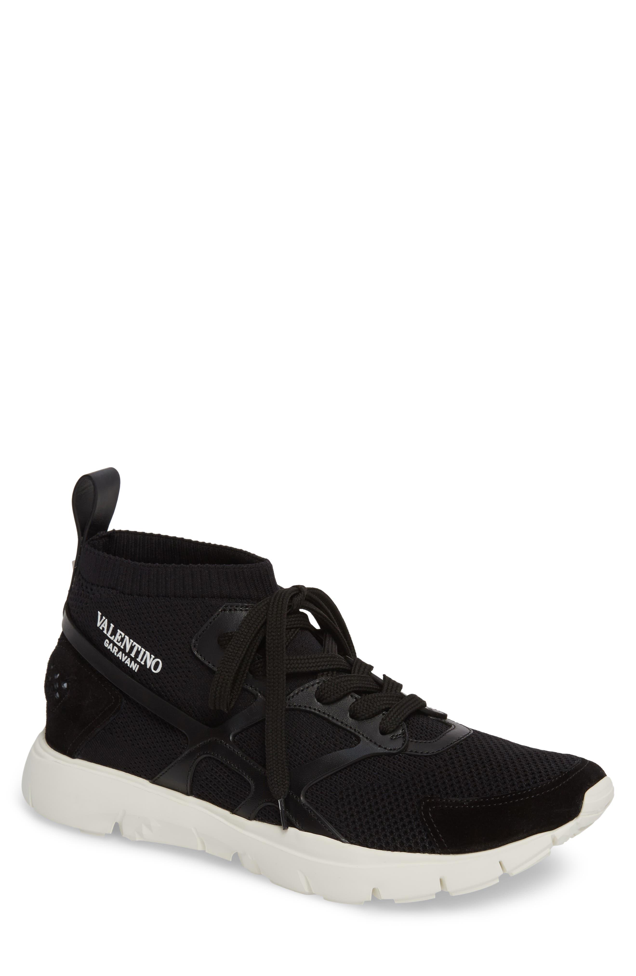 Sound High Sneaker,                             Main thumbnail 1, color,                             Nero