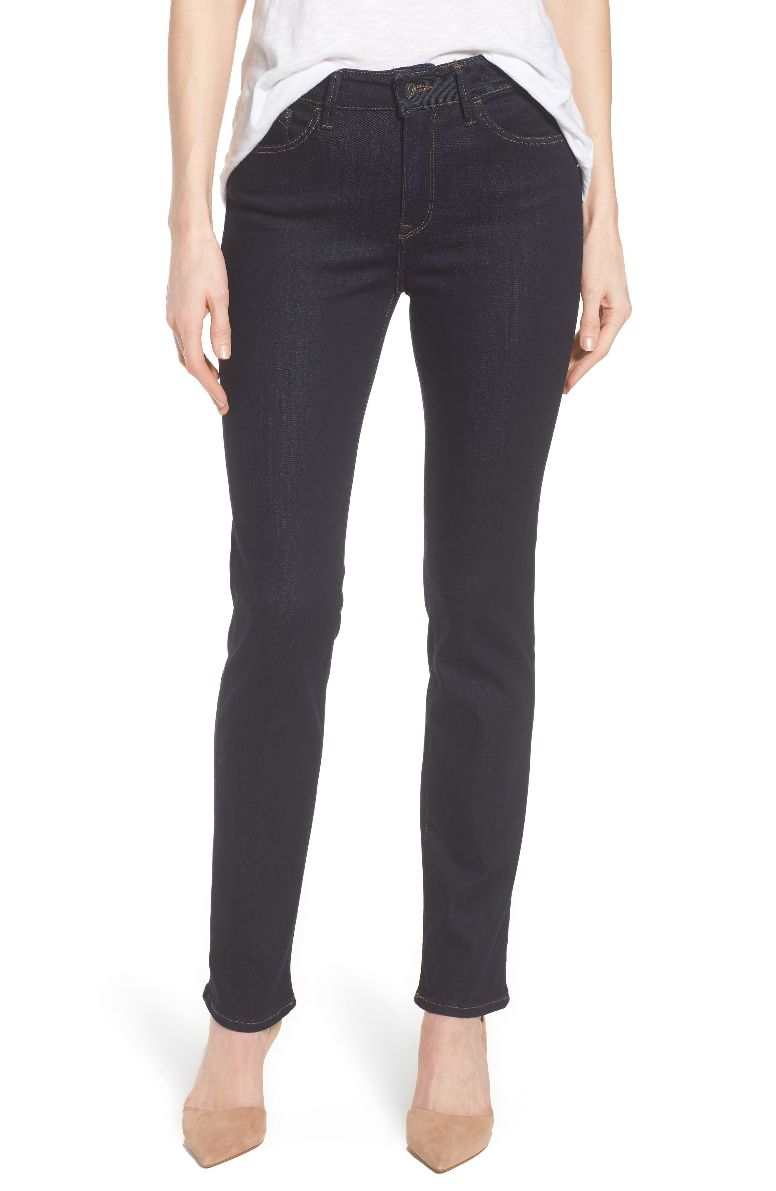 Kendra Supersoft Straight Leg Jeans,                             Main thumbnail 1, color,                             Rinse Super Soft