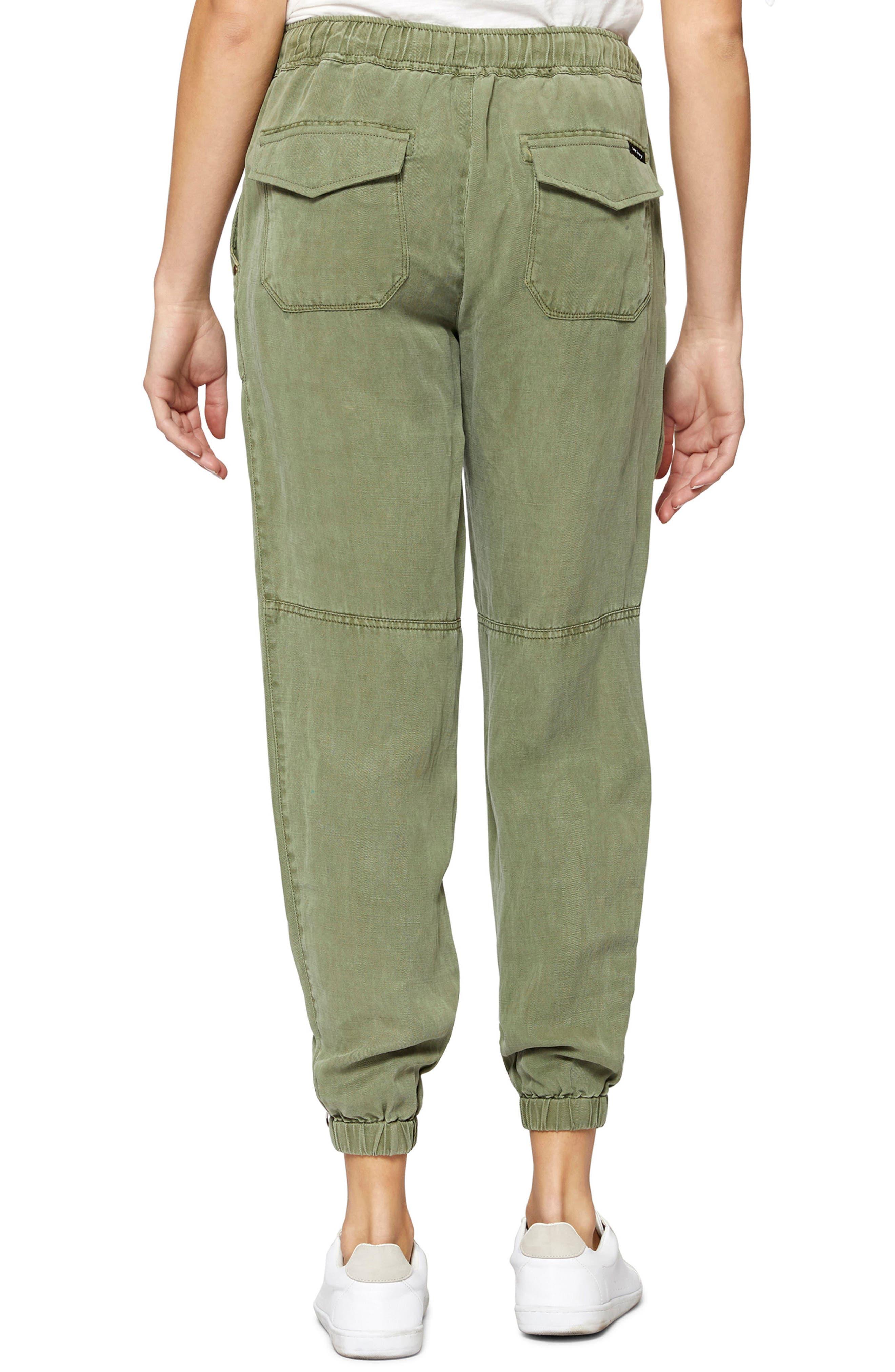 Victory Jogger Linen Blend Pants,                             Alternate thumbnail 2, color,                             Cadet