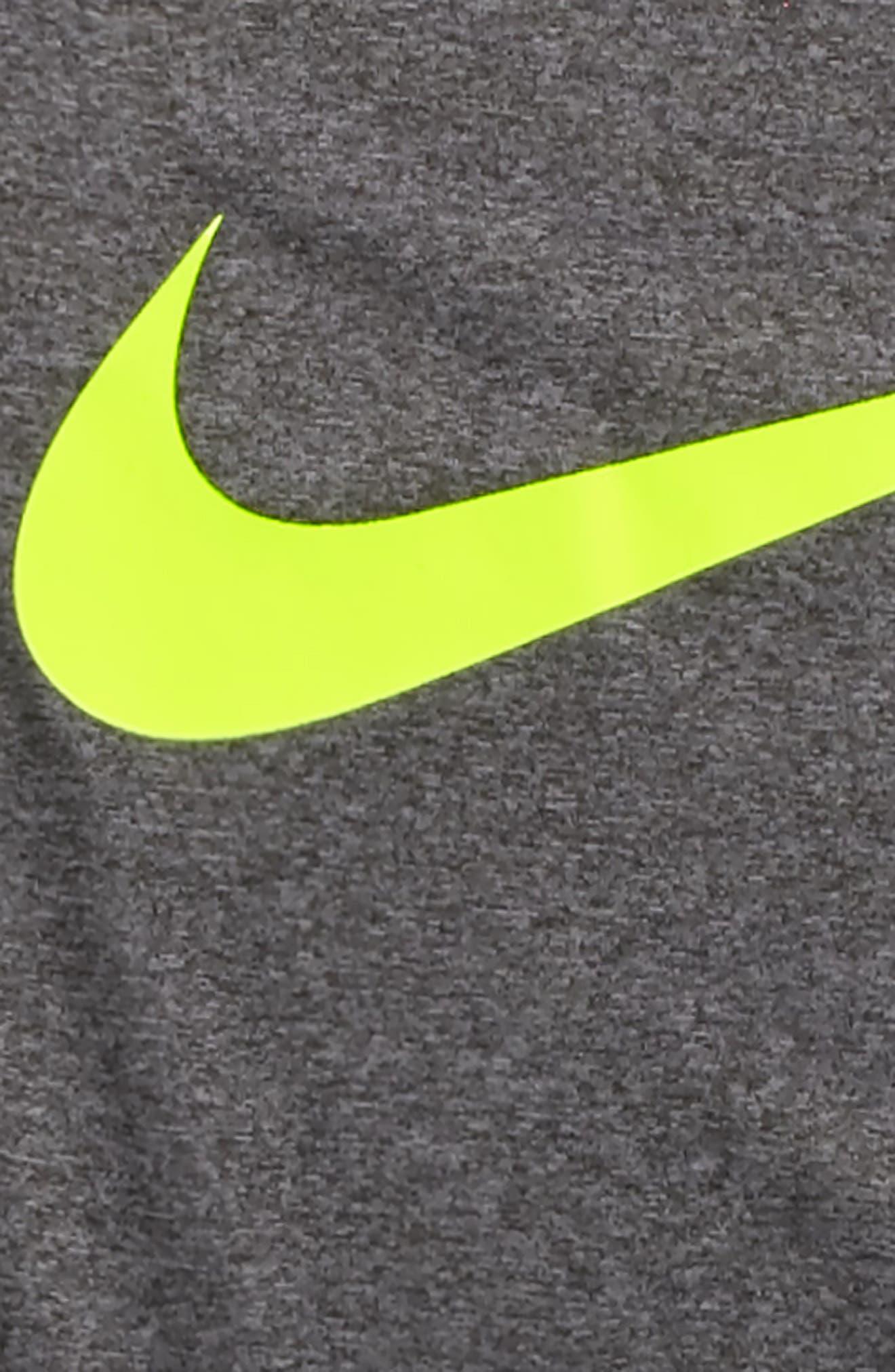 Alternate Image 2  - Nike Dry Swoosh T-Shirt (Little Boys & Big Boys)