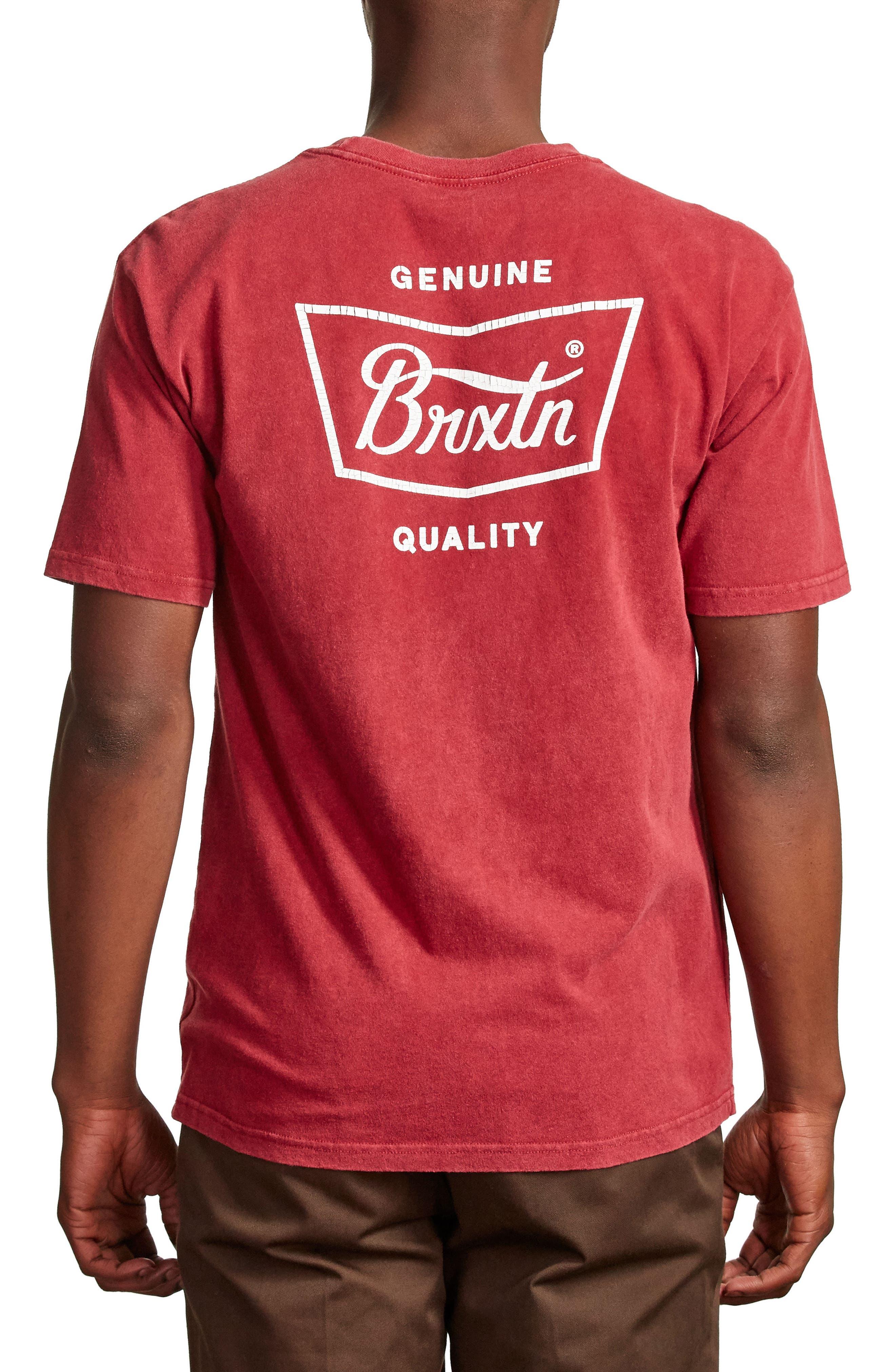 Stith Graphic T-Shirt,                             Alternate thumbnail 2, color,                             Burgundy