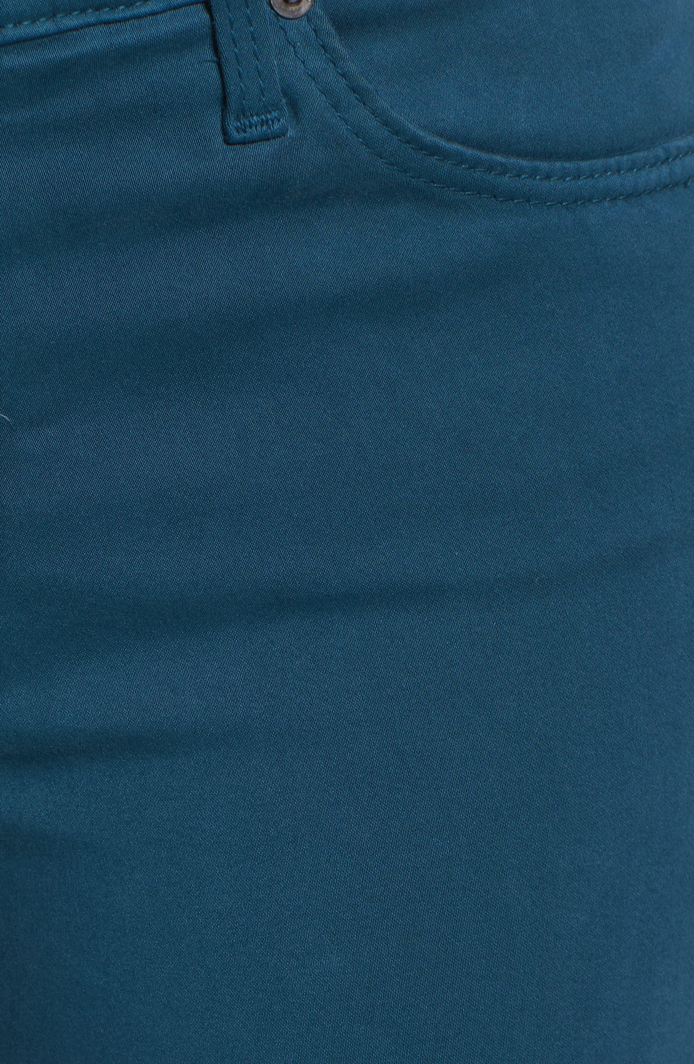 Alternate Image 5  - AG The Prima Crop Cigarette Jeans
