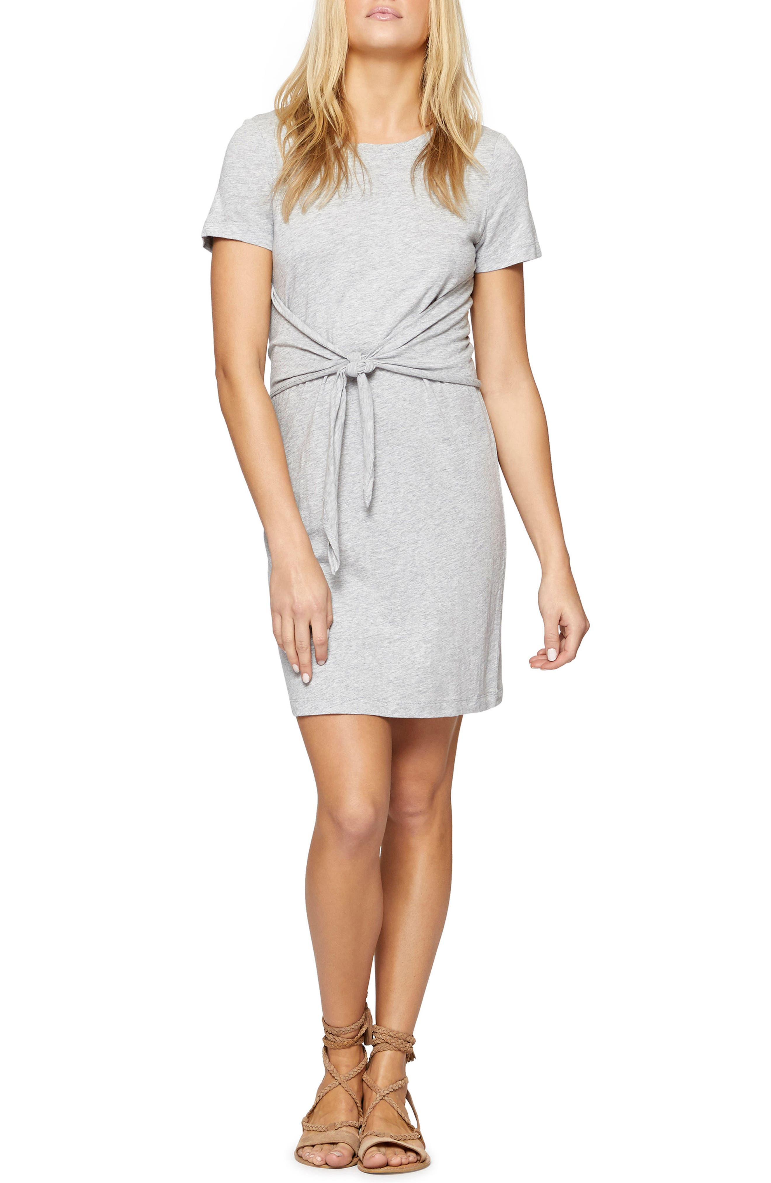 Alternate Image 1 Selected - Sanctuary Juno Tie Waist T-Shirt Dress