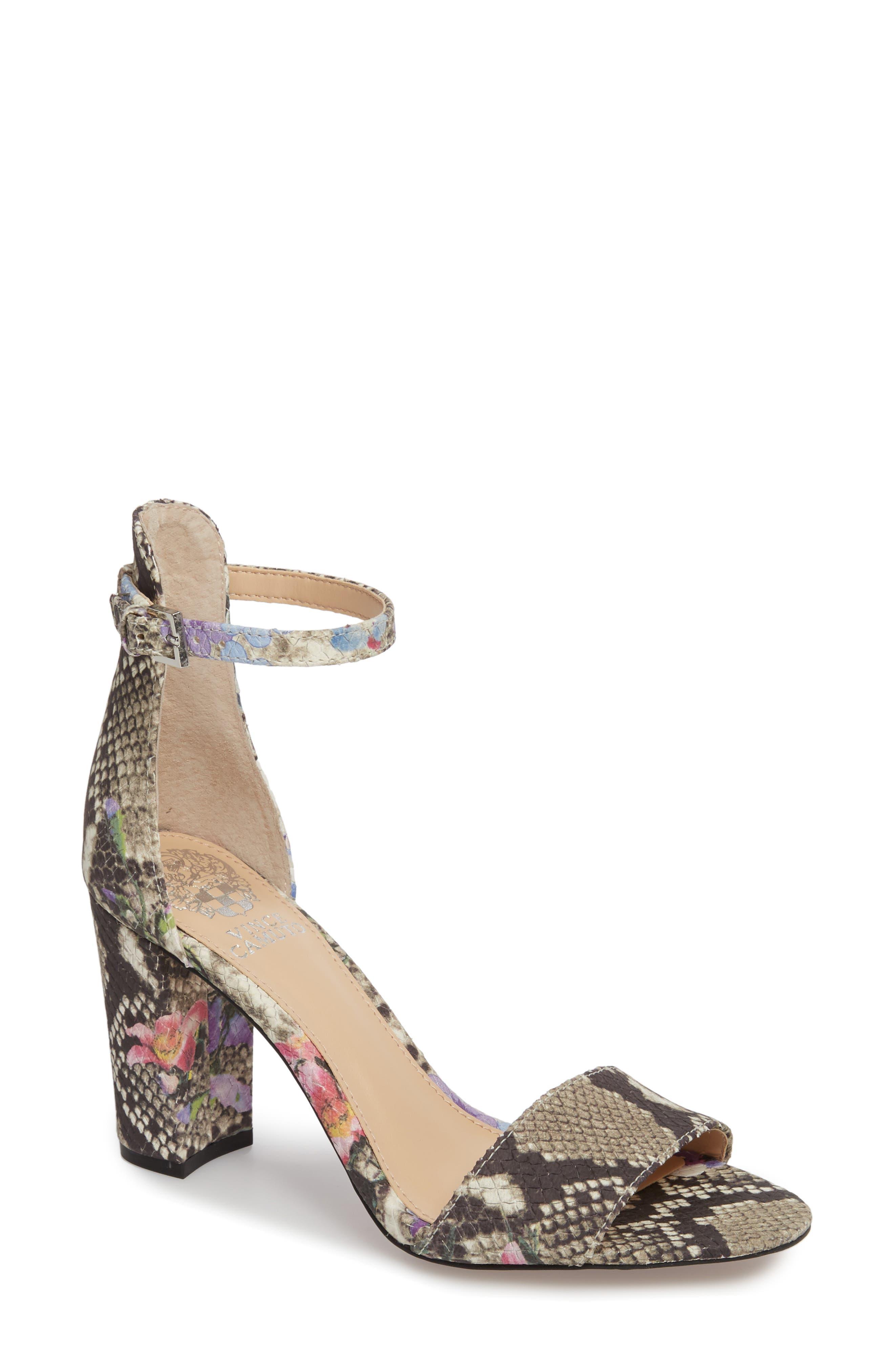 Purple Block-Heel Sandals & Booties for Women | Nordstrom