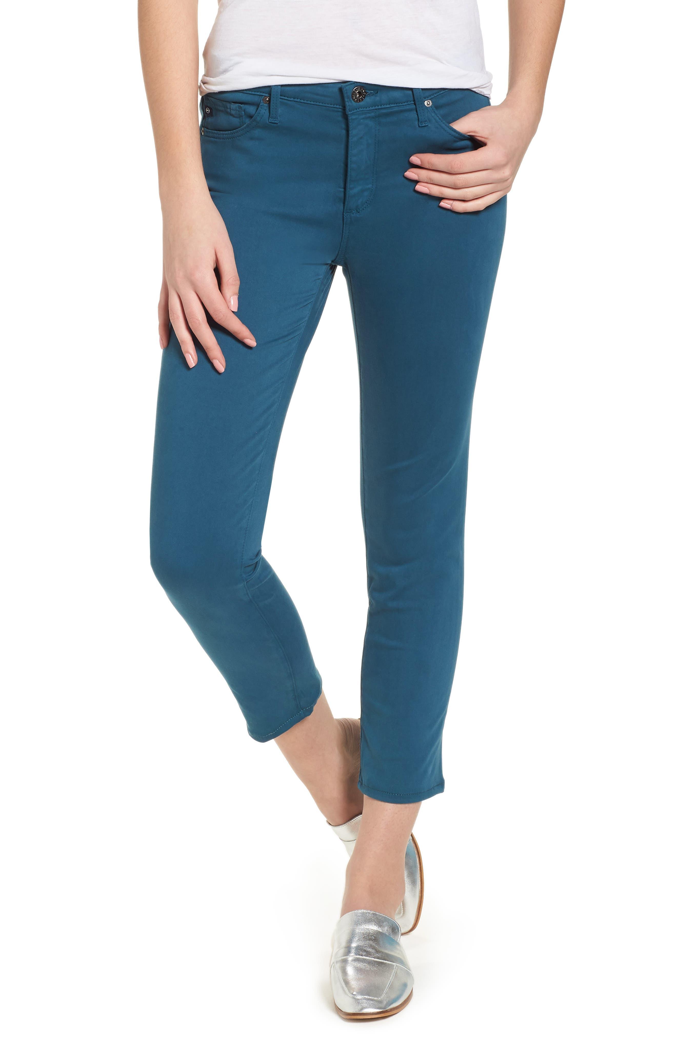 Main Image - AG The Prima Crop Cigarette Jeans