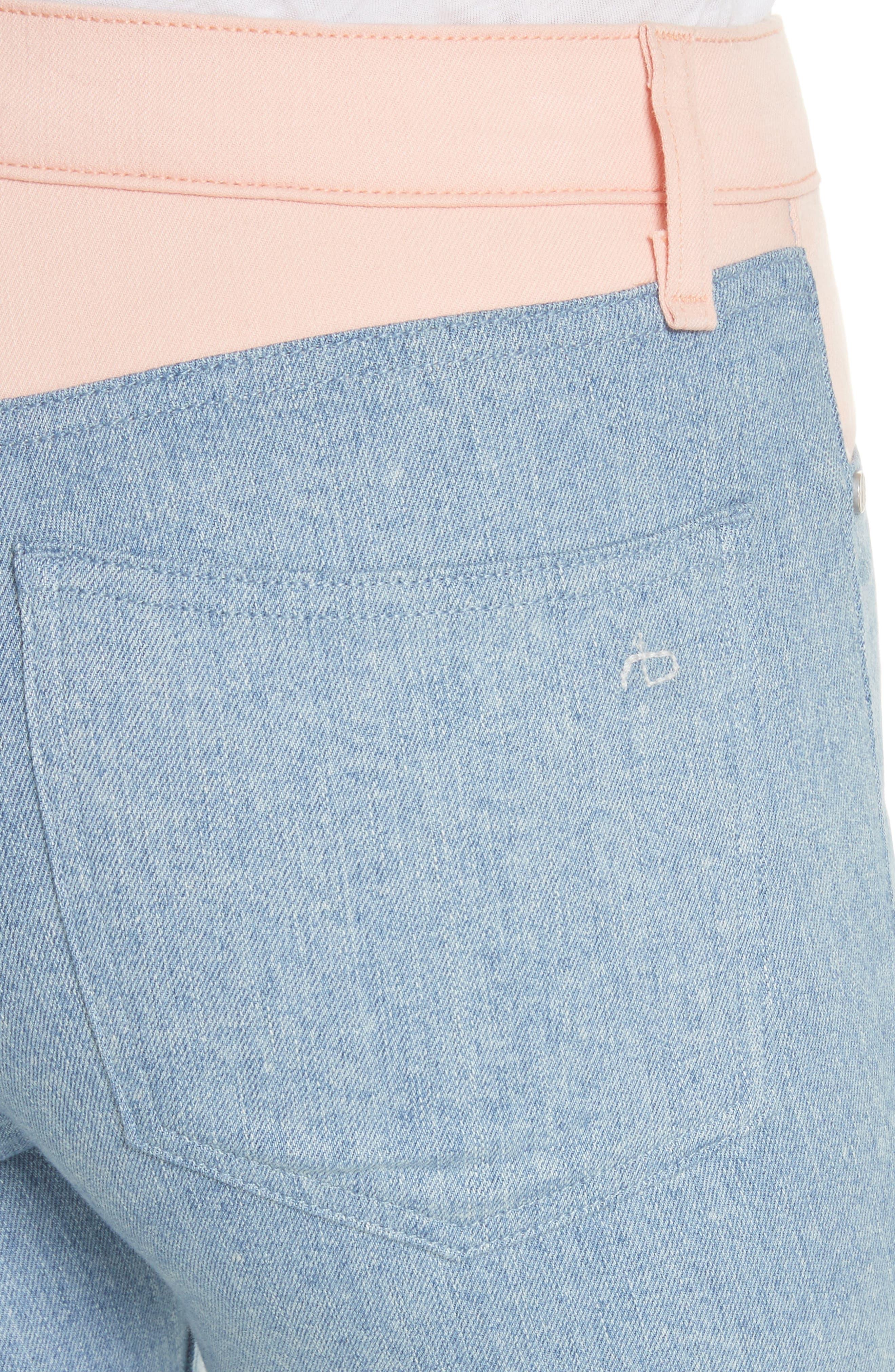 Phila Skinny Jeans,                             Alternate thumbnail 4, color,                             Nelly/ Prairie