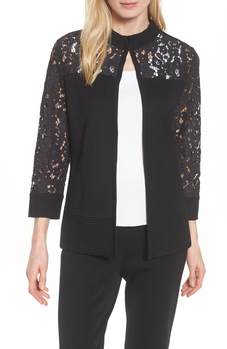 Lace Trim Jacket