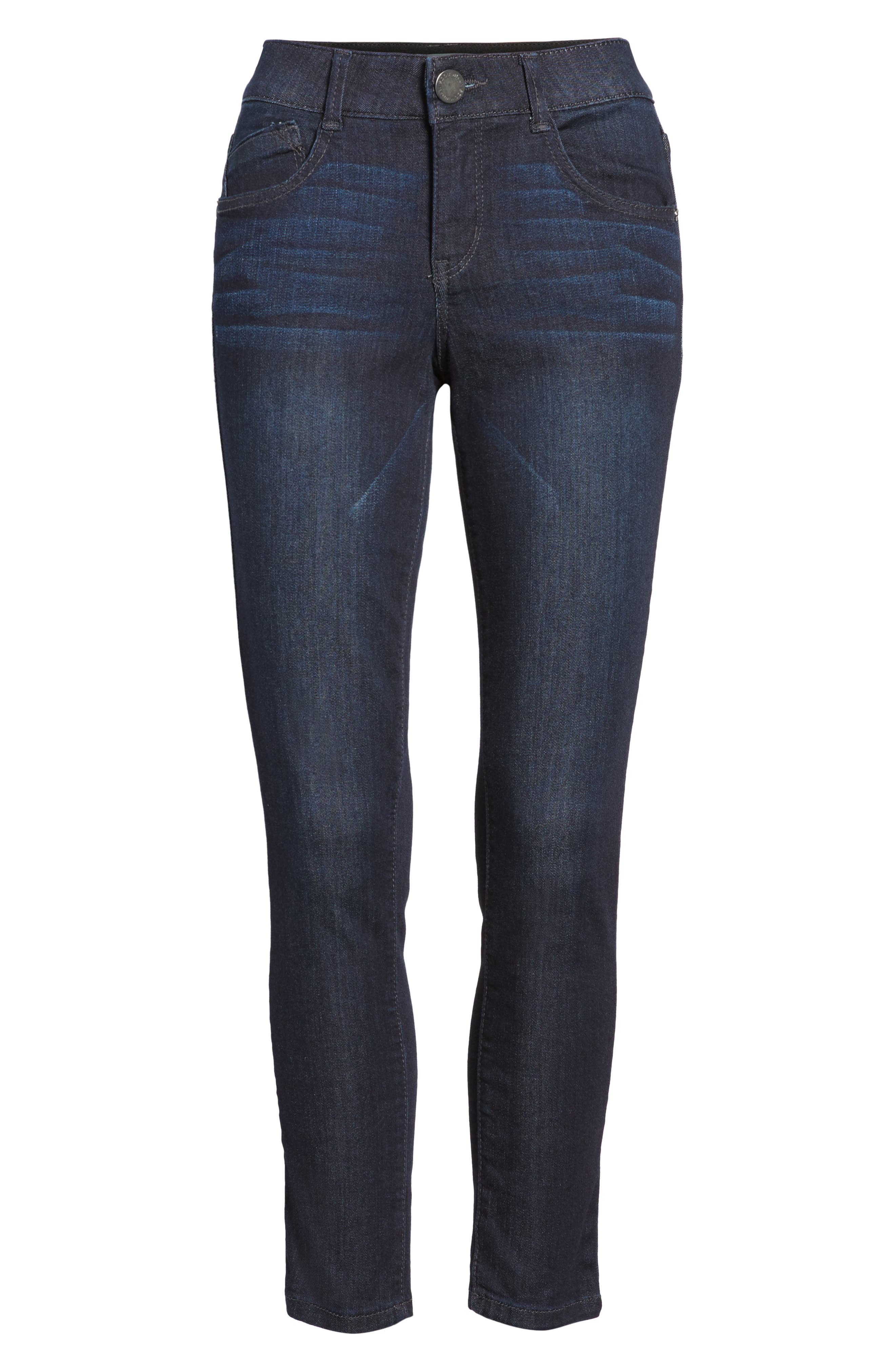 Ab-solution Ankle Skimmer Jeans,                             Alternate thumbnail 7, color,                             In- Indigo
