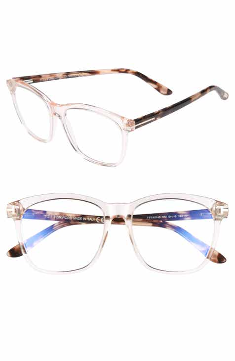 3c8df8443c Tom Ford 54mm Blue Block Optical Glasses