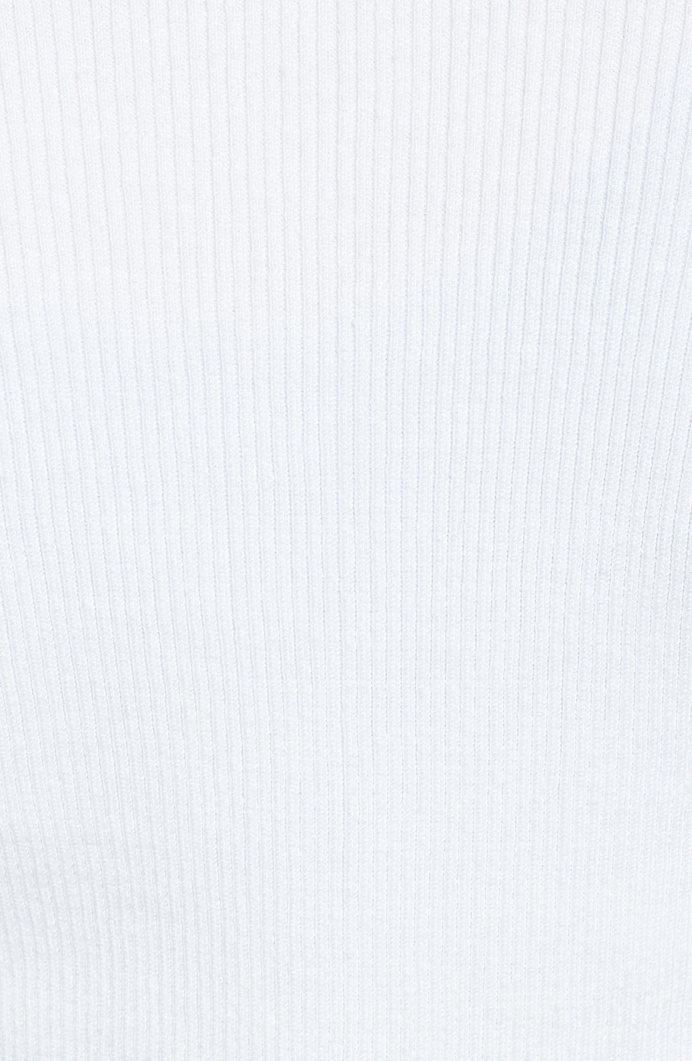 NIC + ZOE Daybreak Open Front Cardigan,                             Alternate thumbnail 6, color,                             Paper White