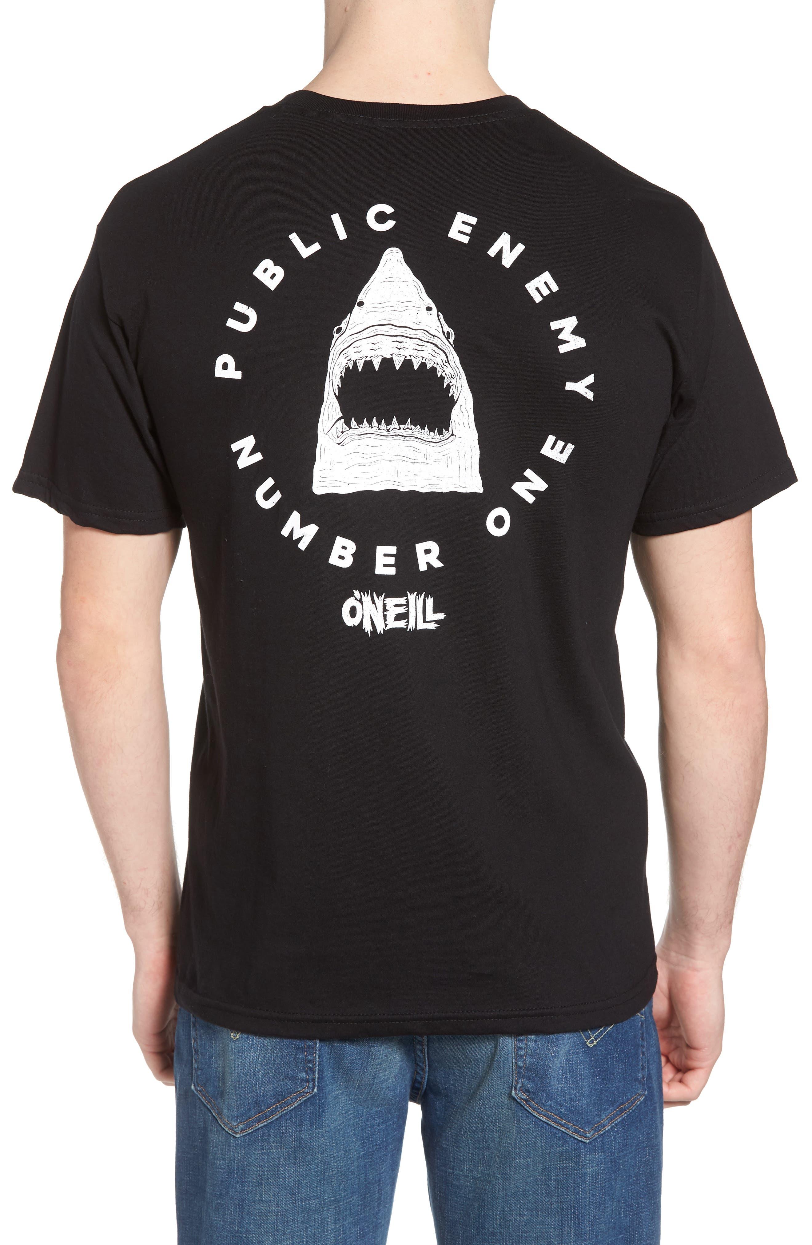 Enemy Graphic T-Shirt,                             Alternate thumbnail 2, color,                             Black