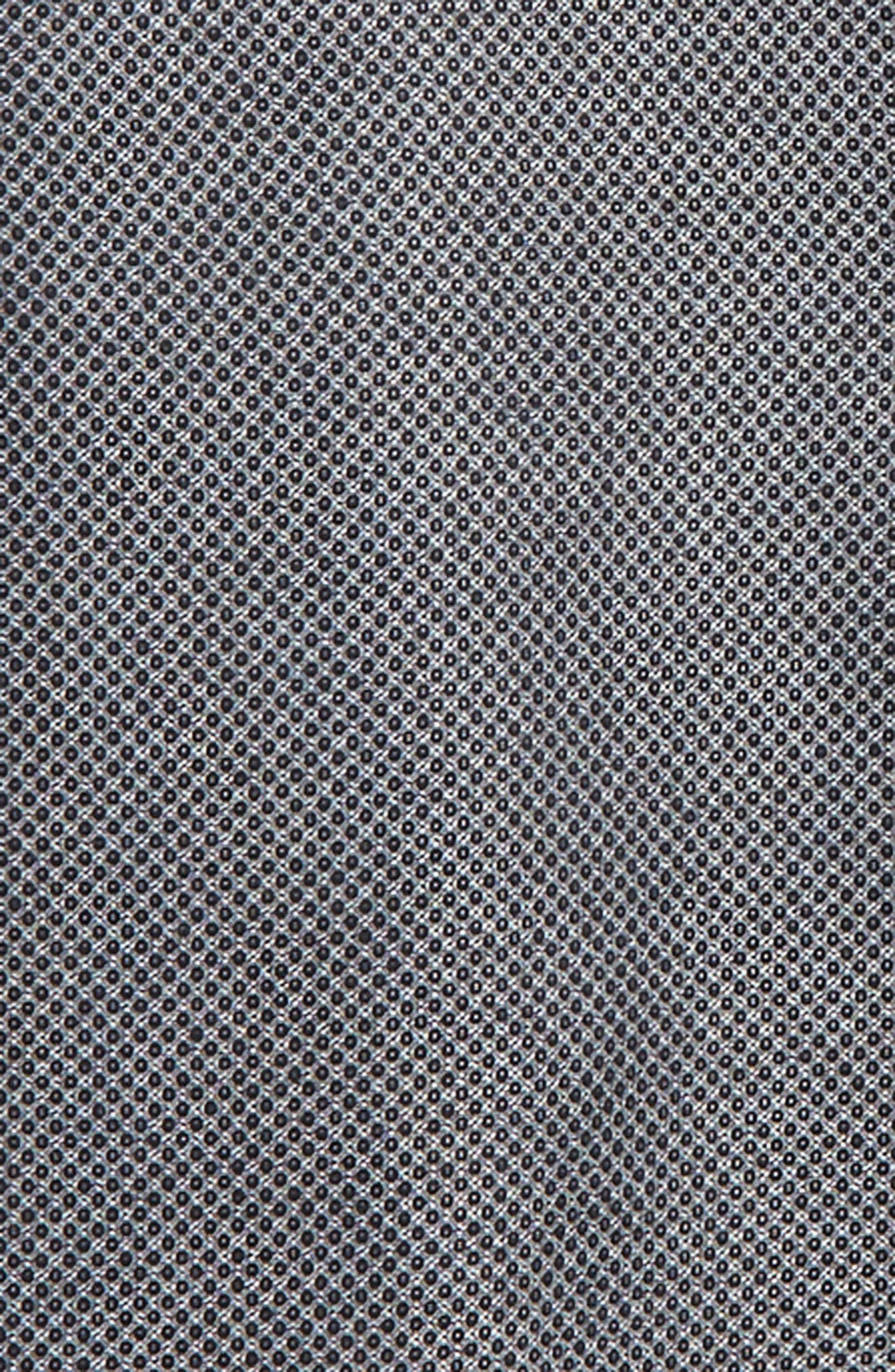 Solid Dress Shirt,                             Alternate thumbnail 2, color,                             Black